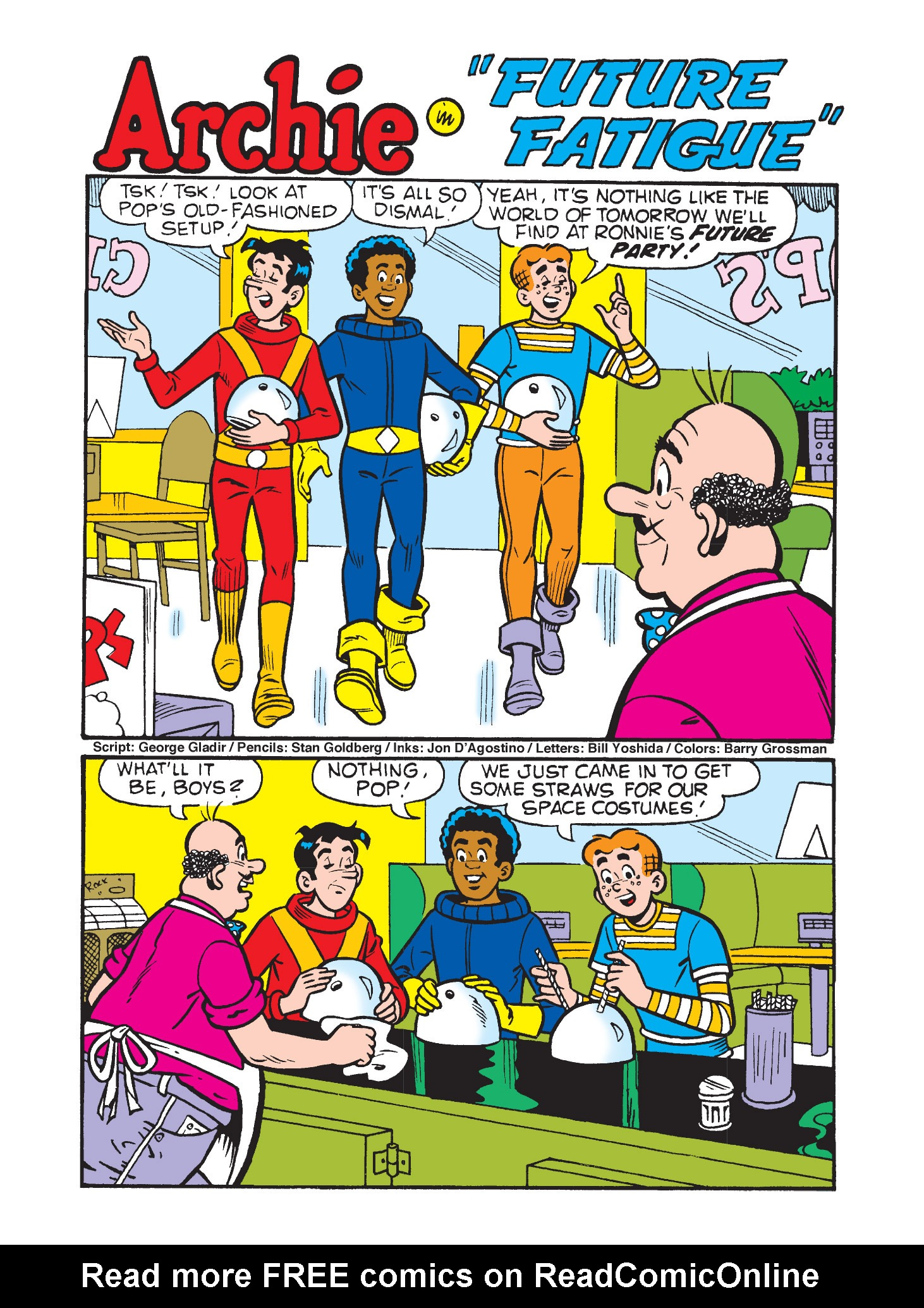 Read online Archie's Funhouse Double Digest comic -  Issue #9 - 72