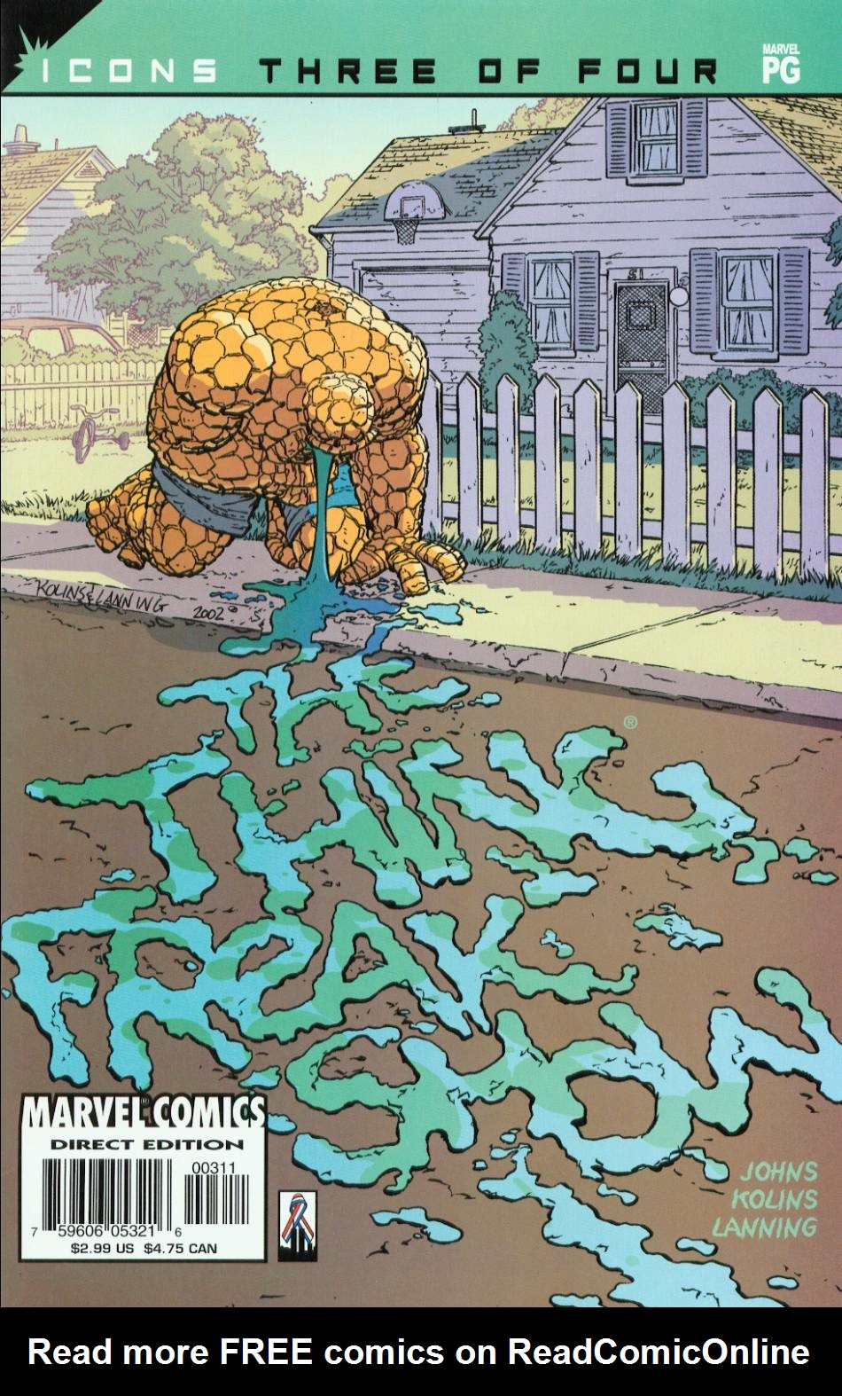 The Thing: Freakshow 3 Page 1