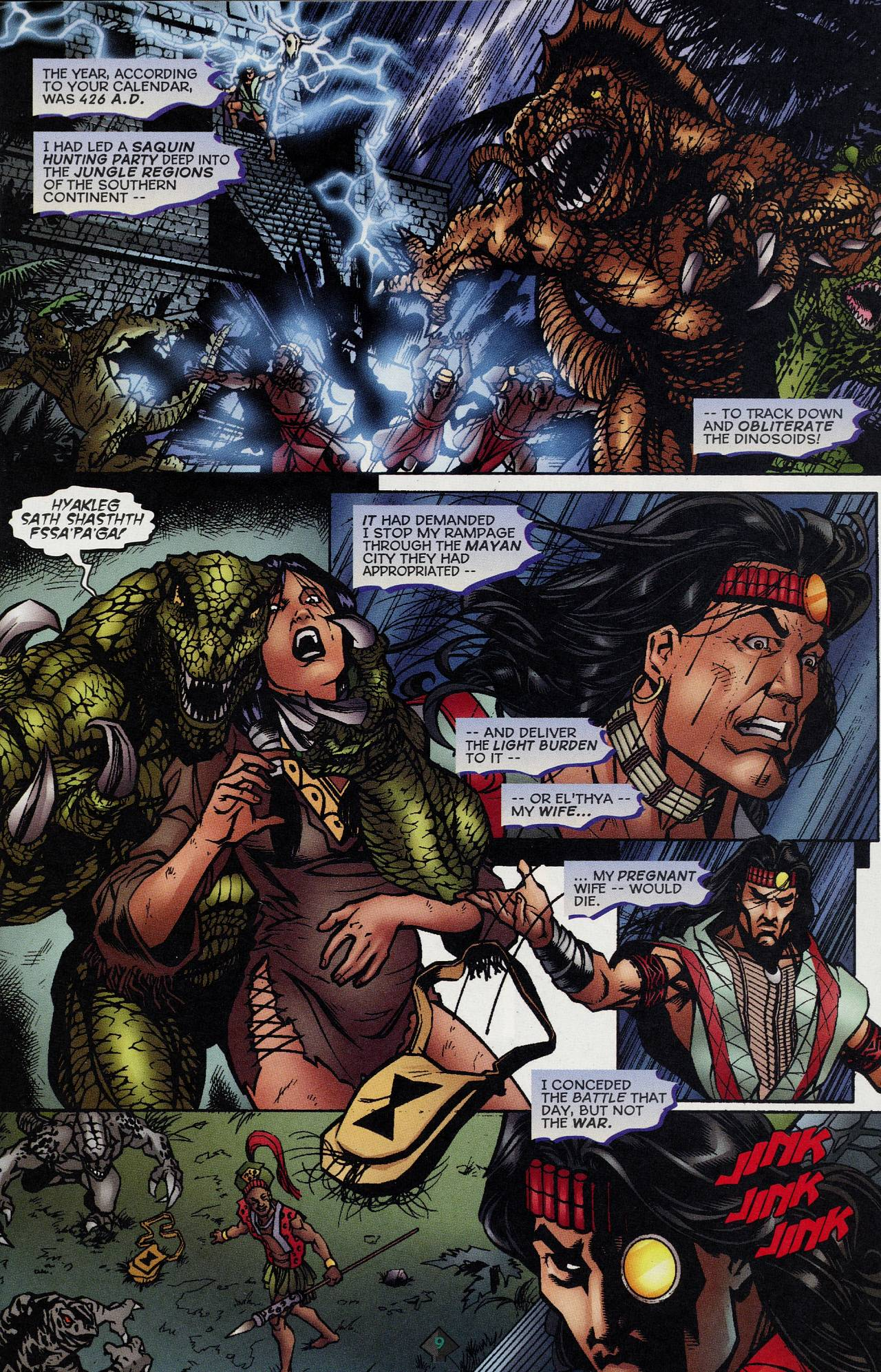 Read online Turok: Tales of the Lost Land comic -  Issue # Full - 7