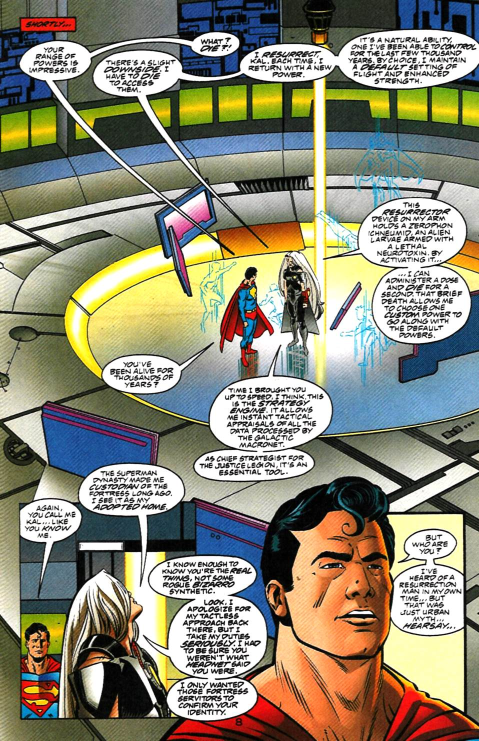 Read online Adventures of Superman (1987) comic -  Issue #1000000 - 9