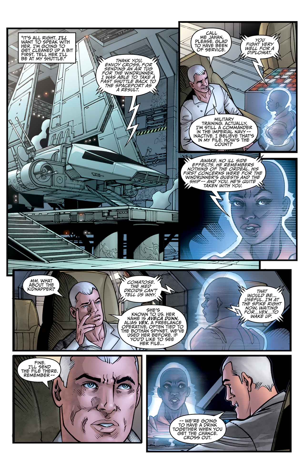 Read online Star Wars: Agent Of The Empire - Hard Targets comic -  Issue #3 - 11