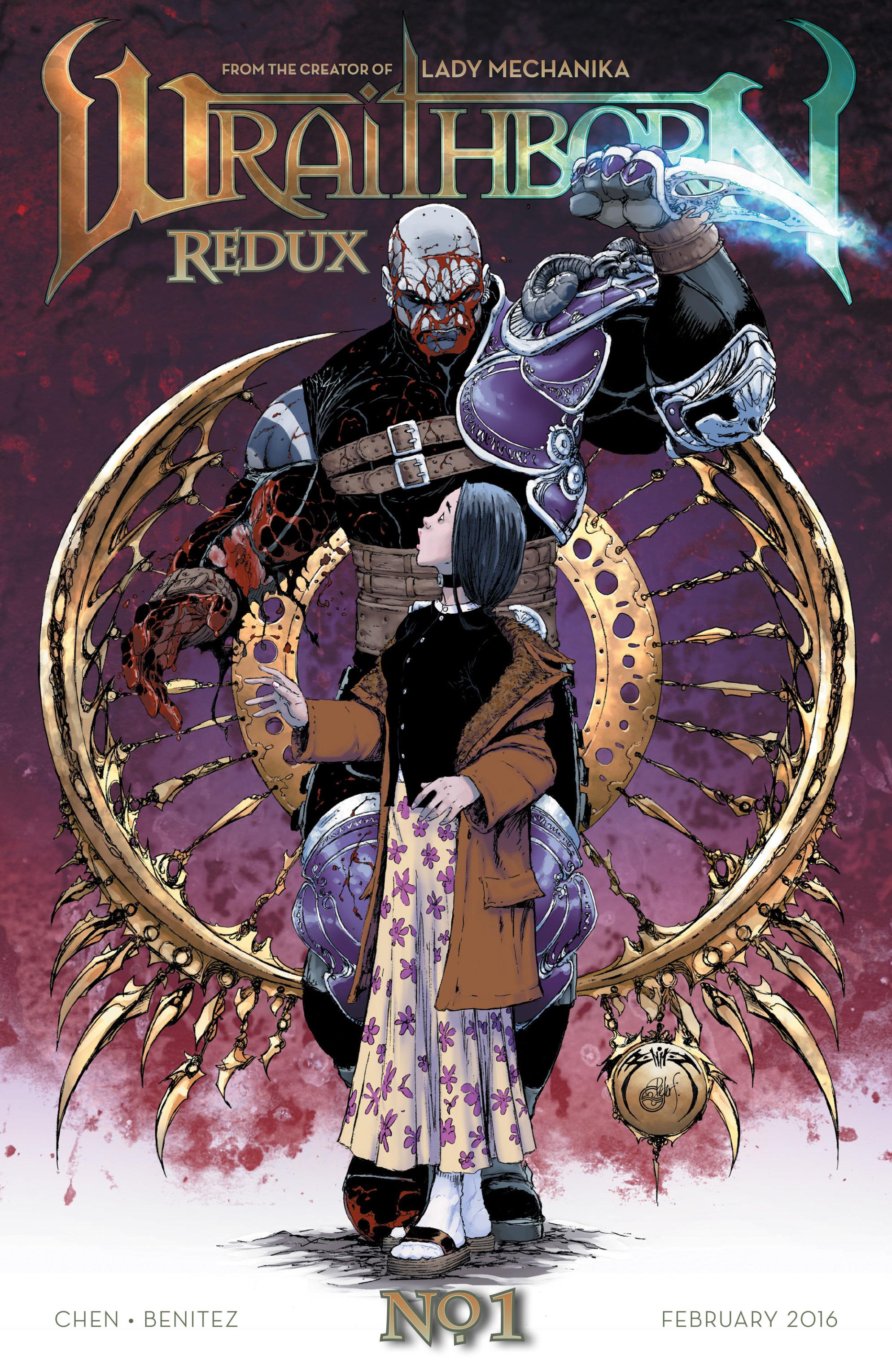 Read online Wraithborn Redux comic -  Issue #1 - 2