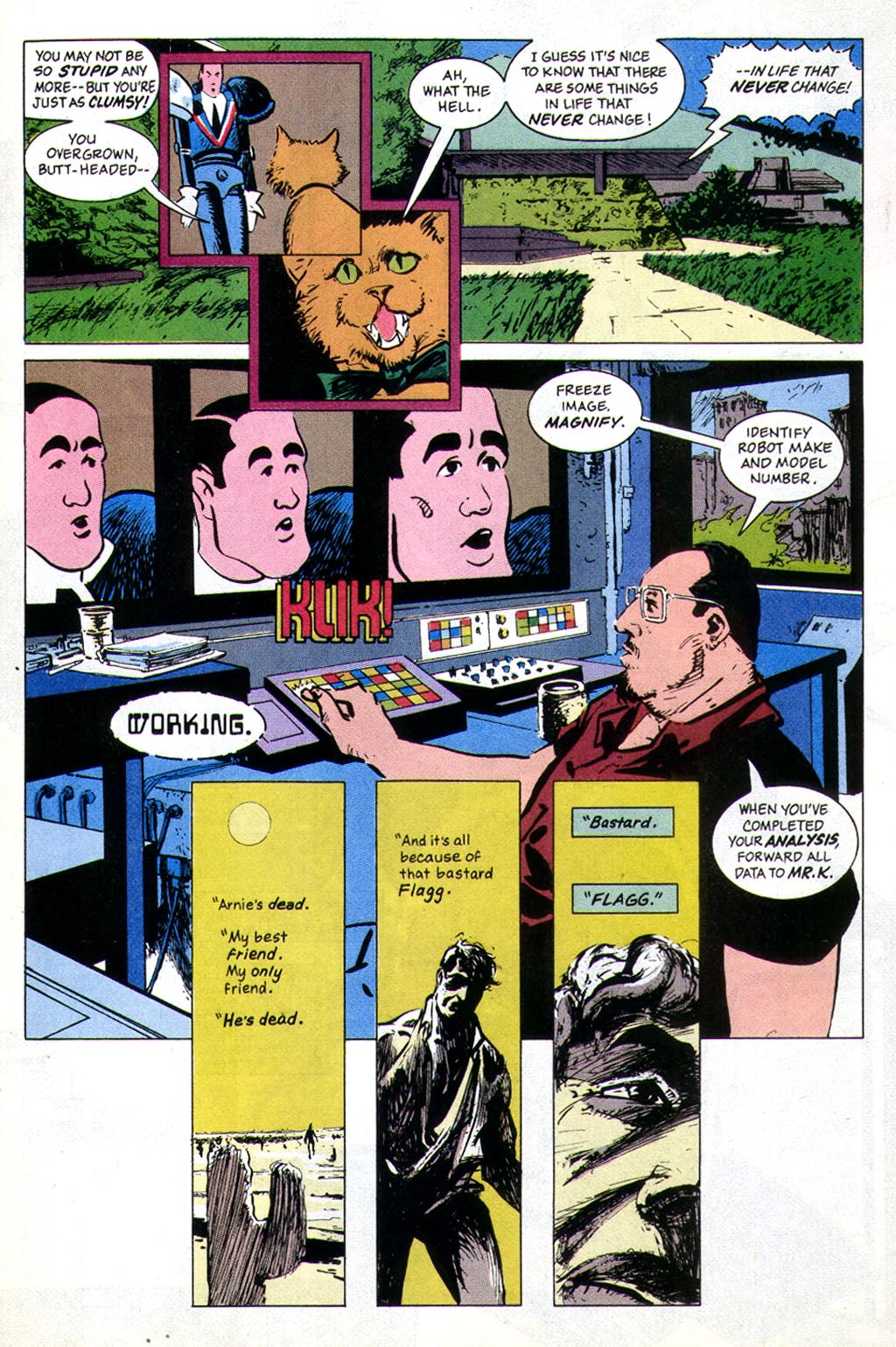 Read online American Flagg! comic -  Issue #43 - 9