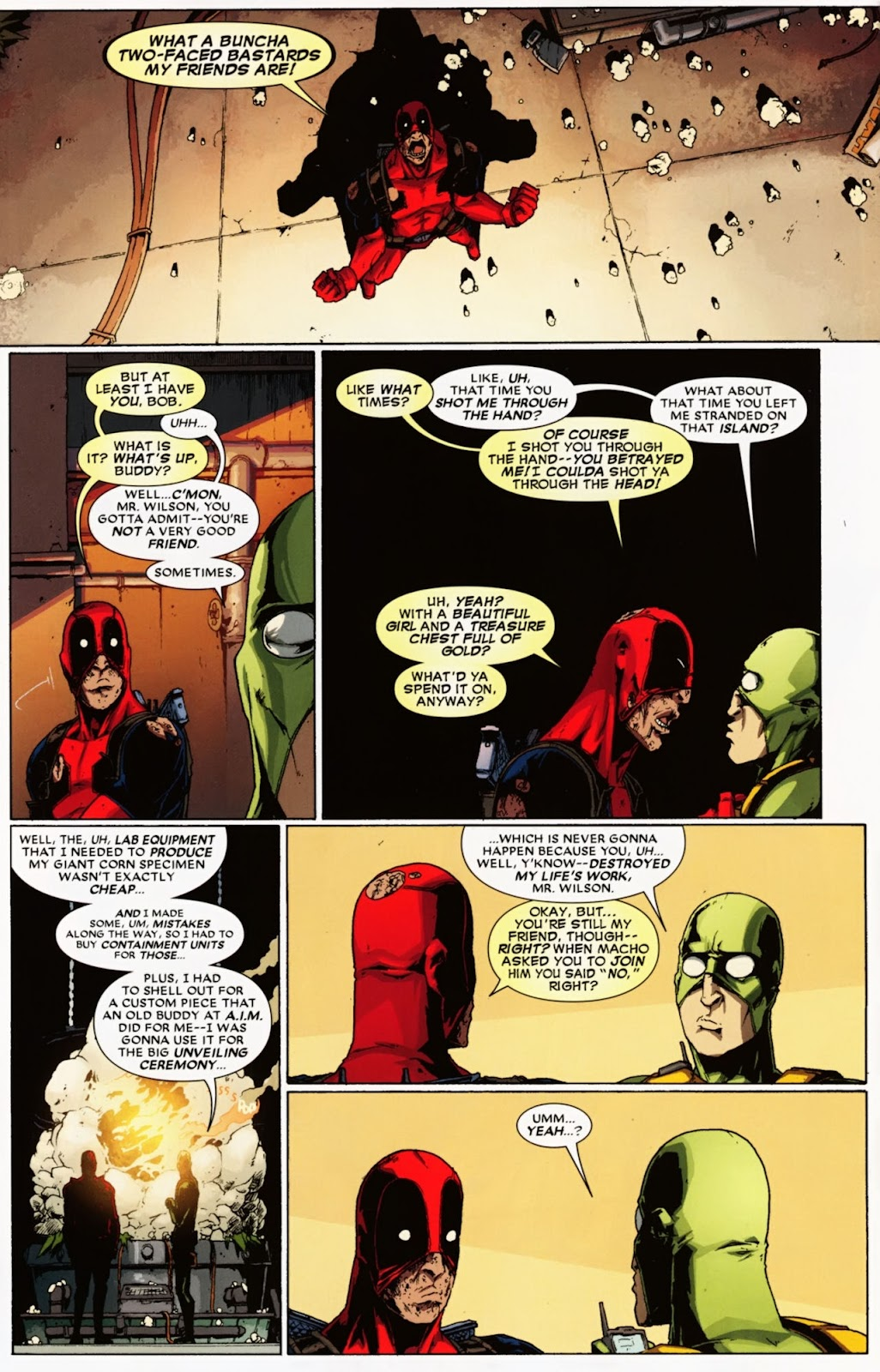 Read online Deadpool (2008) comic -  Issue #36 - 10