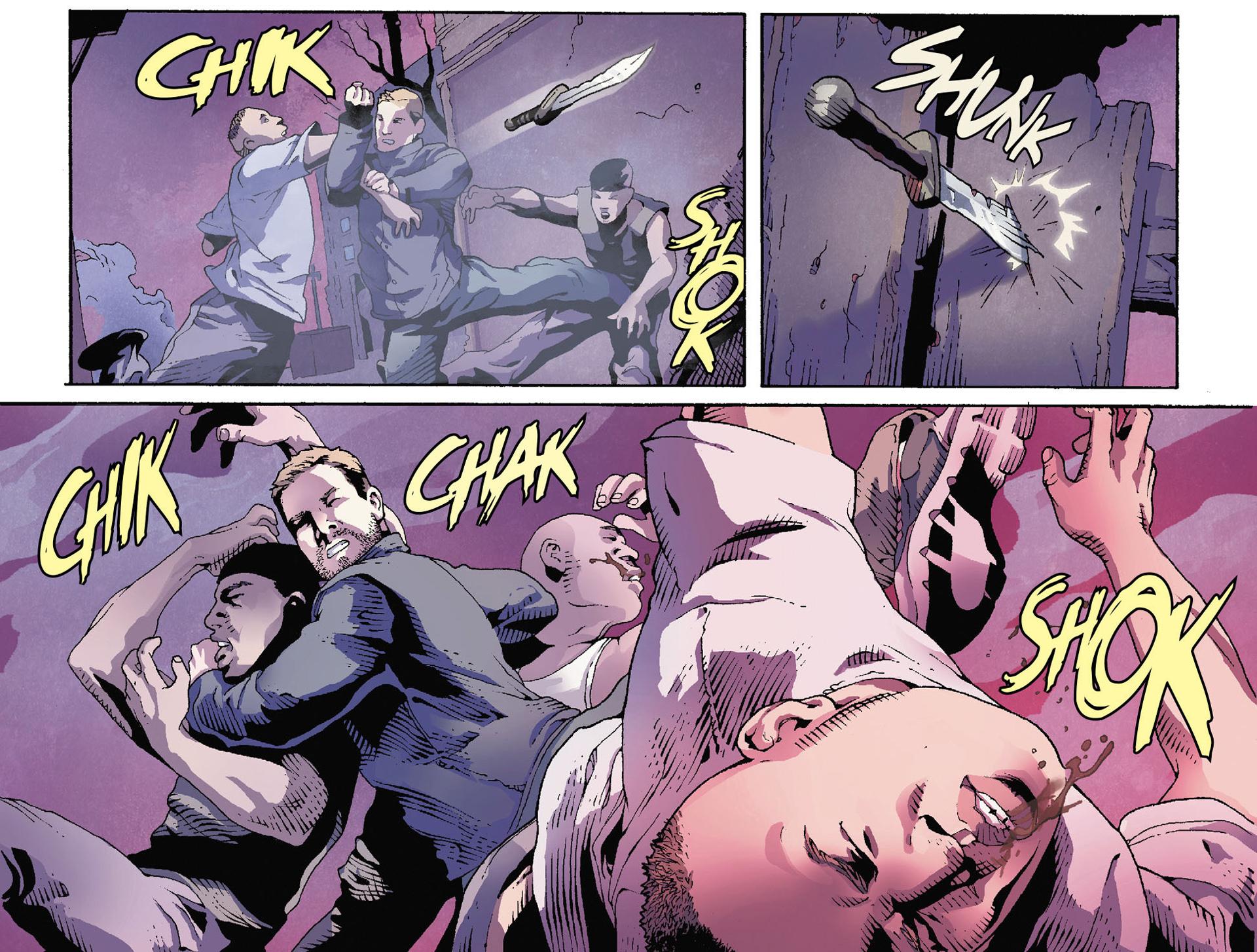 Read online Arrow [II] comic -  Issue #35 - 10