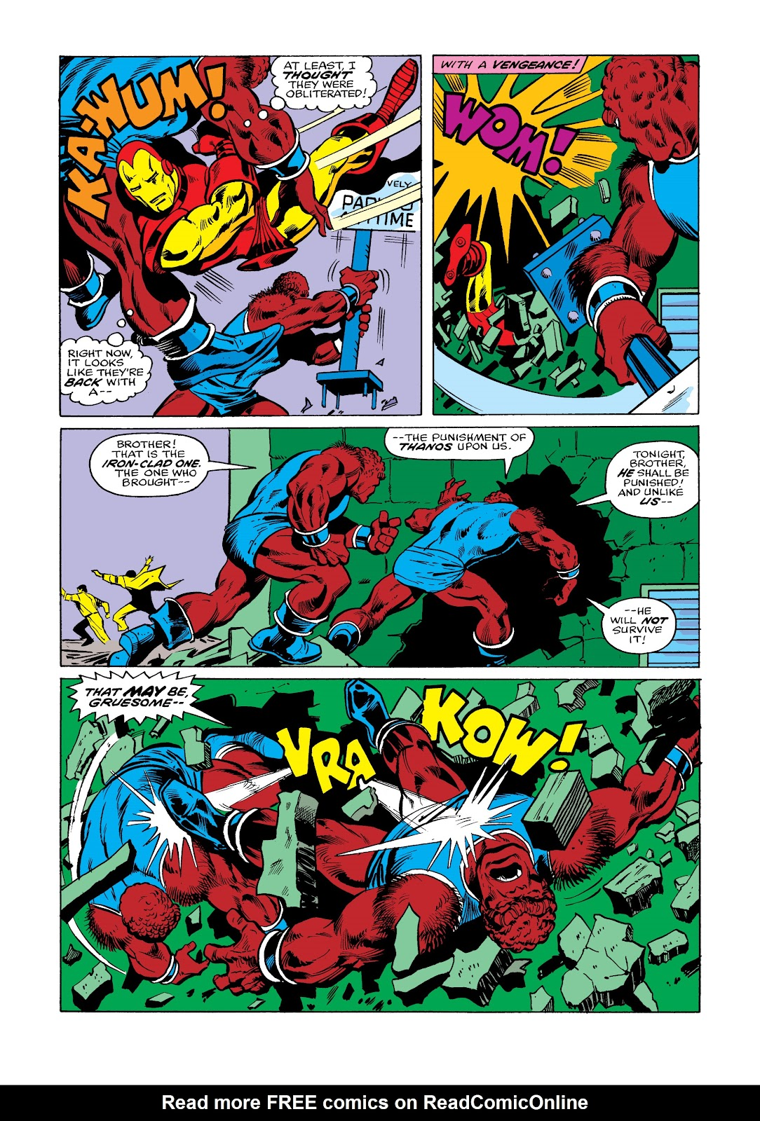 Read online Marvel Masterworks: The Invincible Iron Man comic -  Issue # TPB 11 (Part 2) - 69
