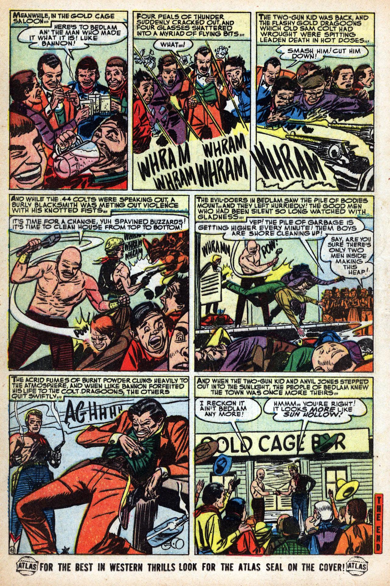 Read online Two-Gun Kid comic -  Issue #15 - 16