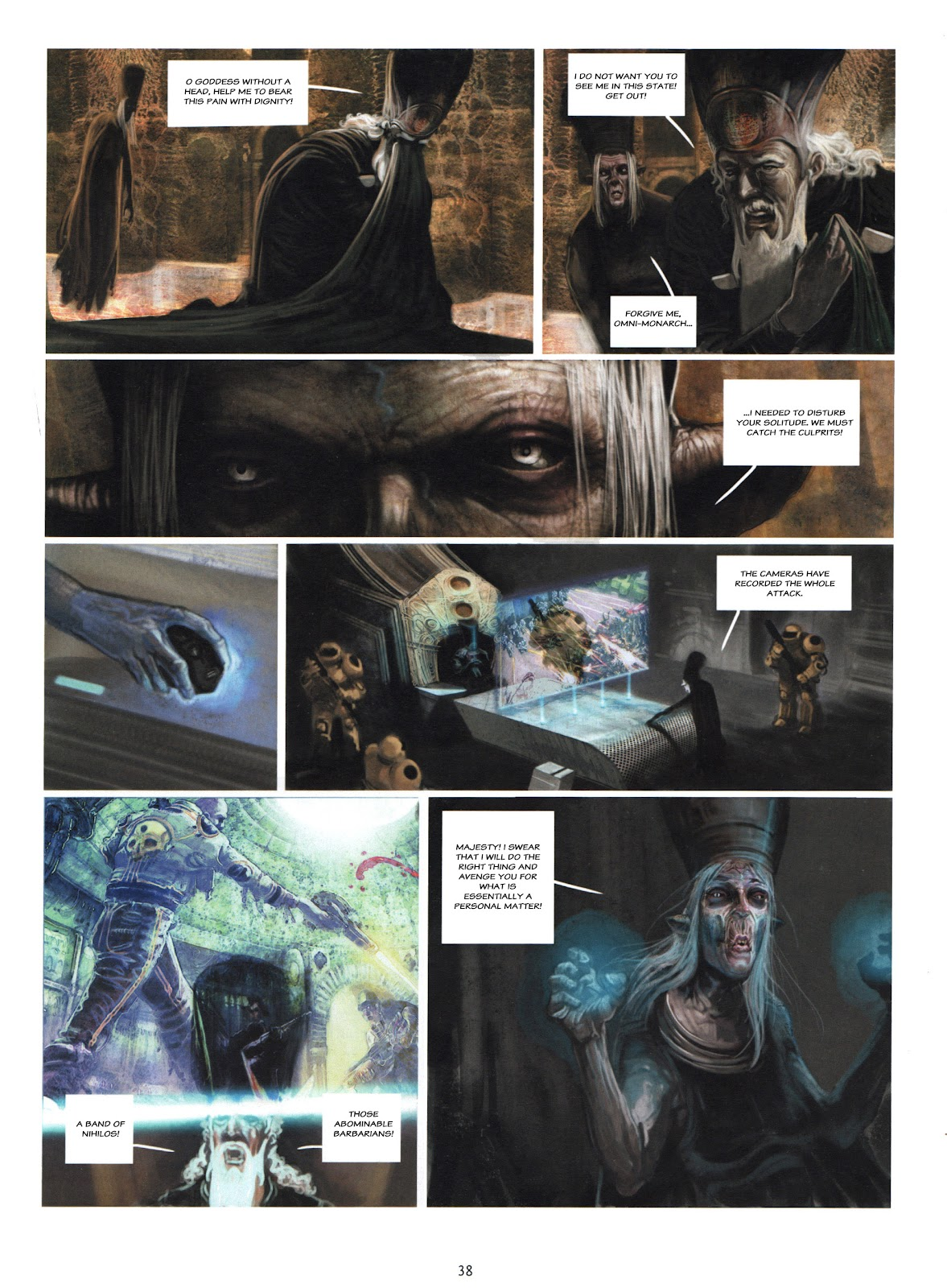 Showman Killer issue 1 - Page 38