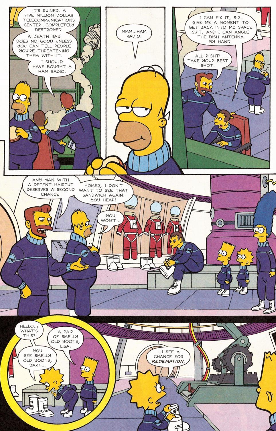 Read online Simpsons Comics comic -  Issue #117 - 21