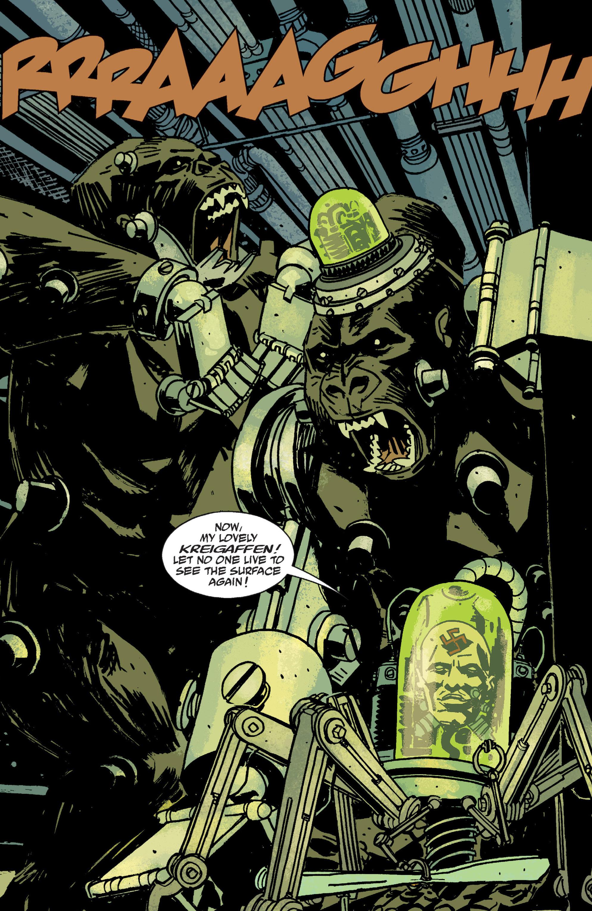 Read online B.P.R.D. (2003) comic -  Issue # TPB 9 - 109