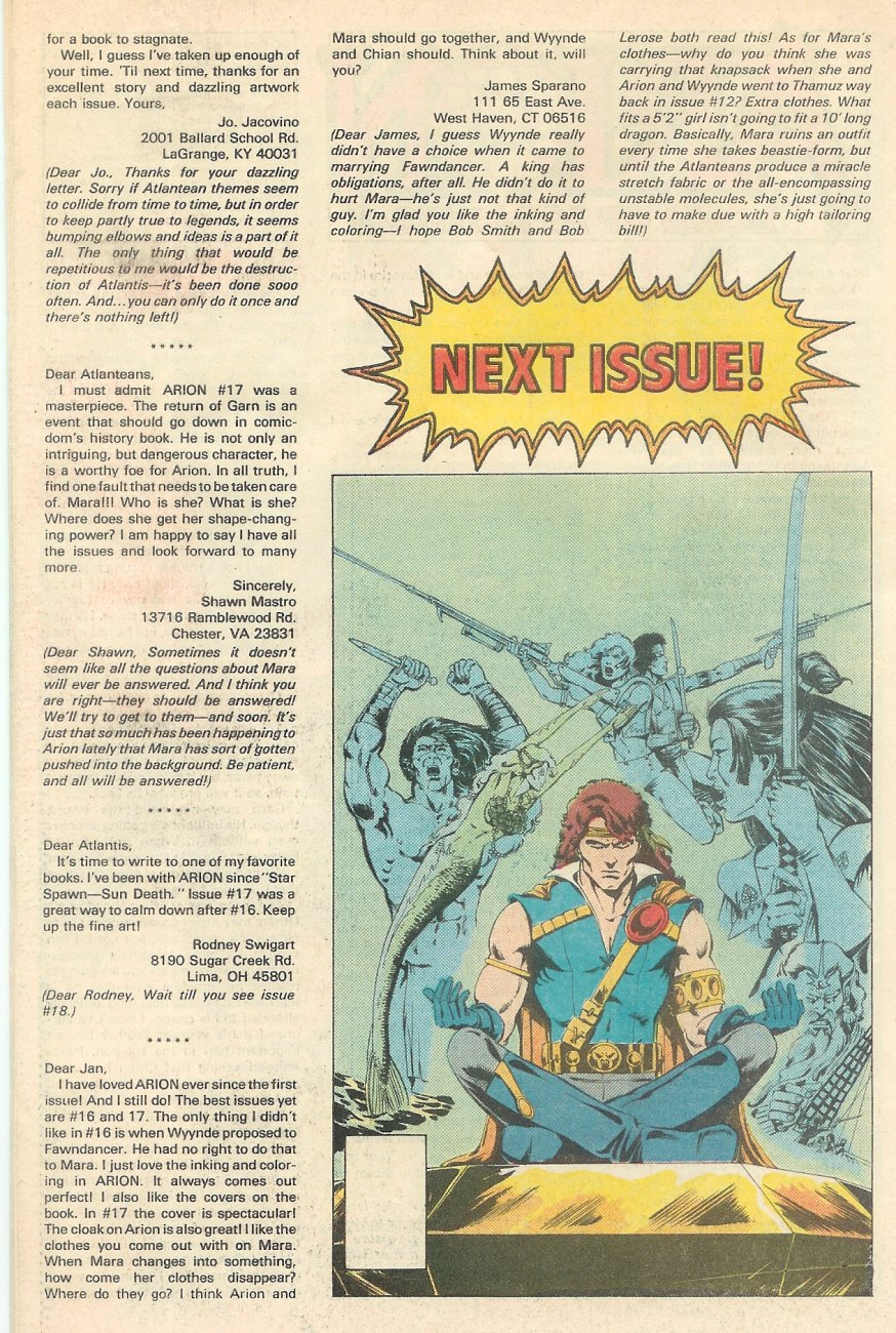 Read online Arion, Lord of Atlantis comic -  Issue #20 - 27