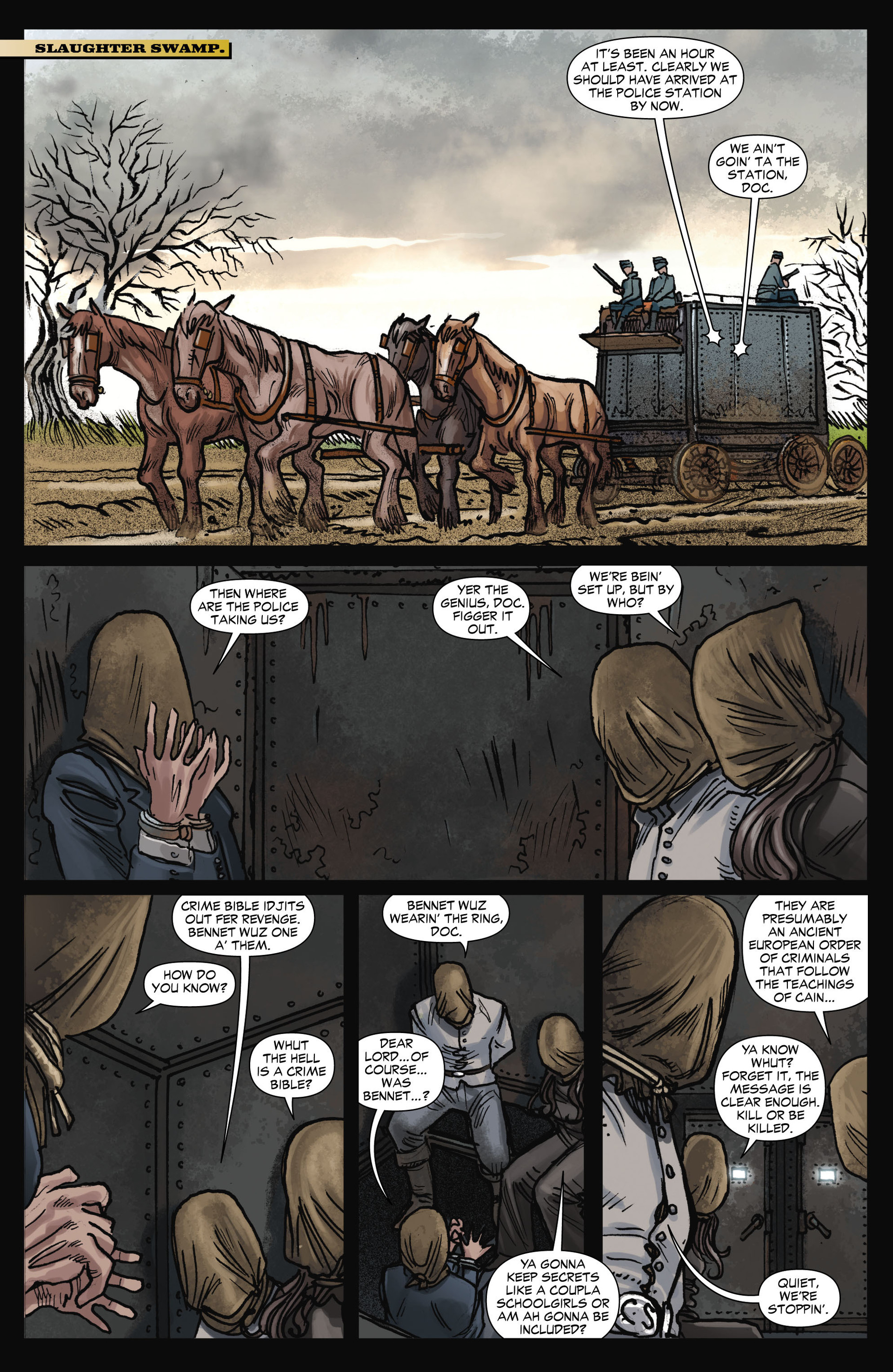 Read online All-Star Western (2011) comic -  Issue #11 - 14