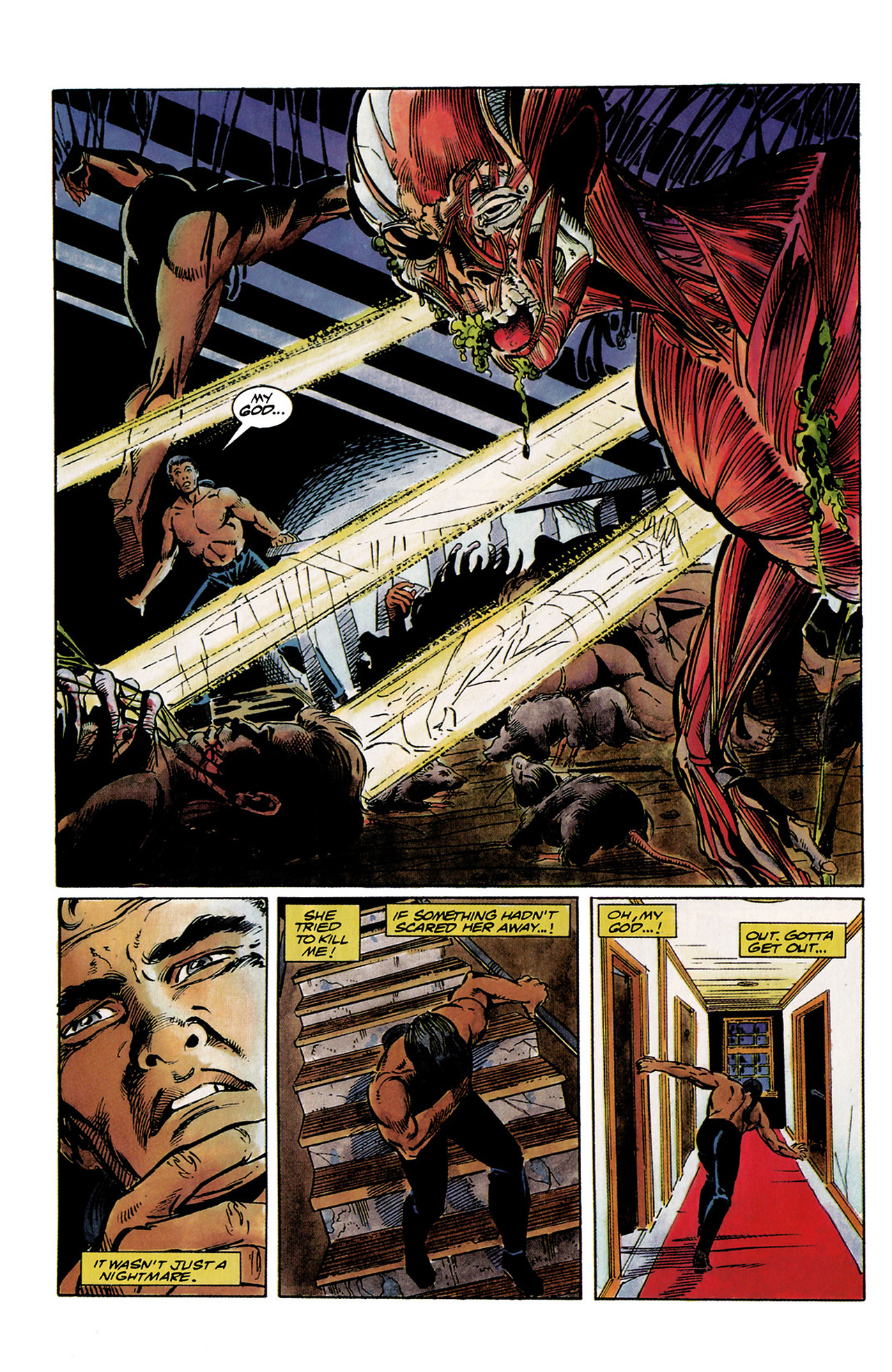 Read online Shadowman (1992) comic -  Issue #1 - 14
