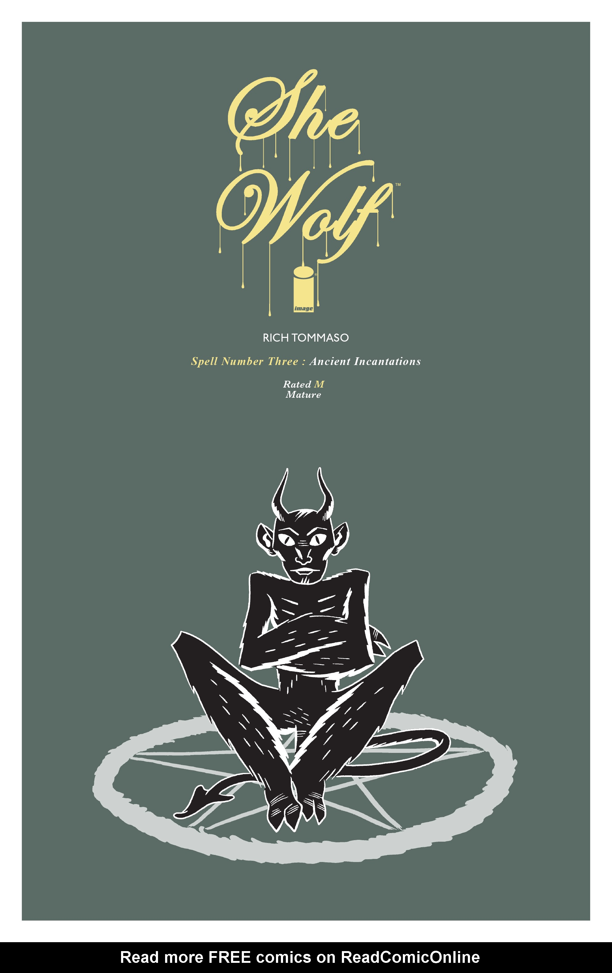Read online She Wolf comic -  Issue #3 - 1