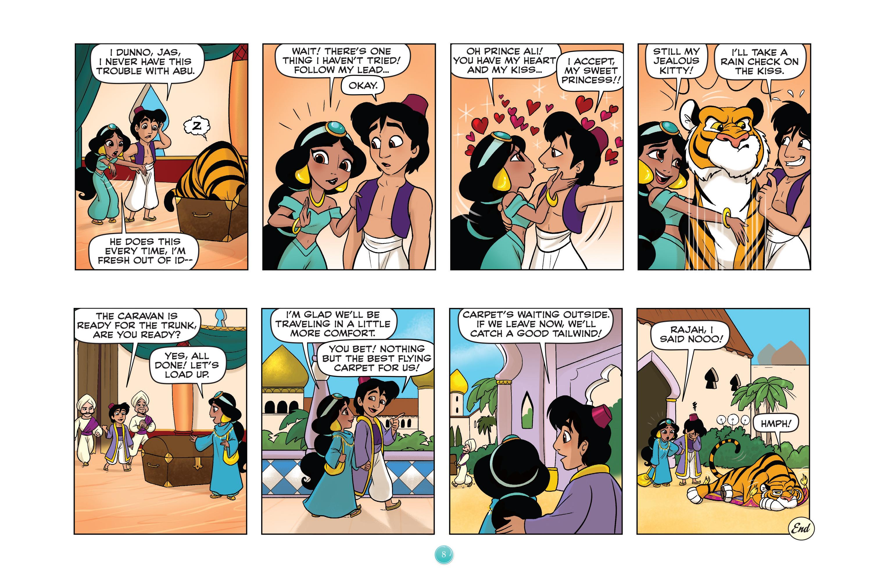 Read online Disney Princess comic -  Issue #5 - 11