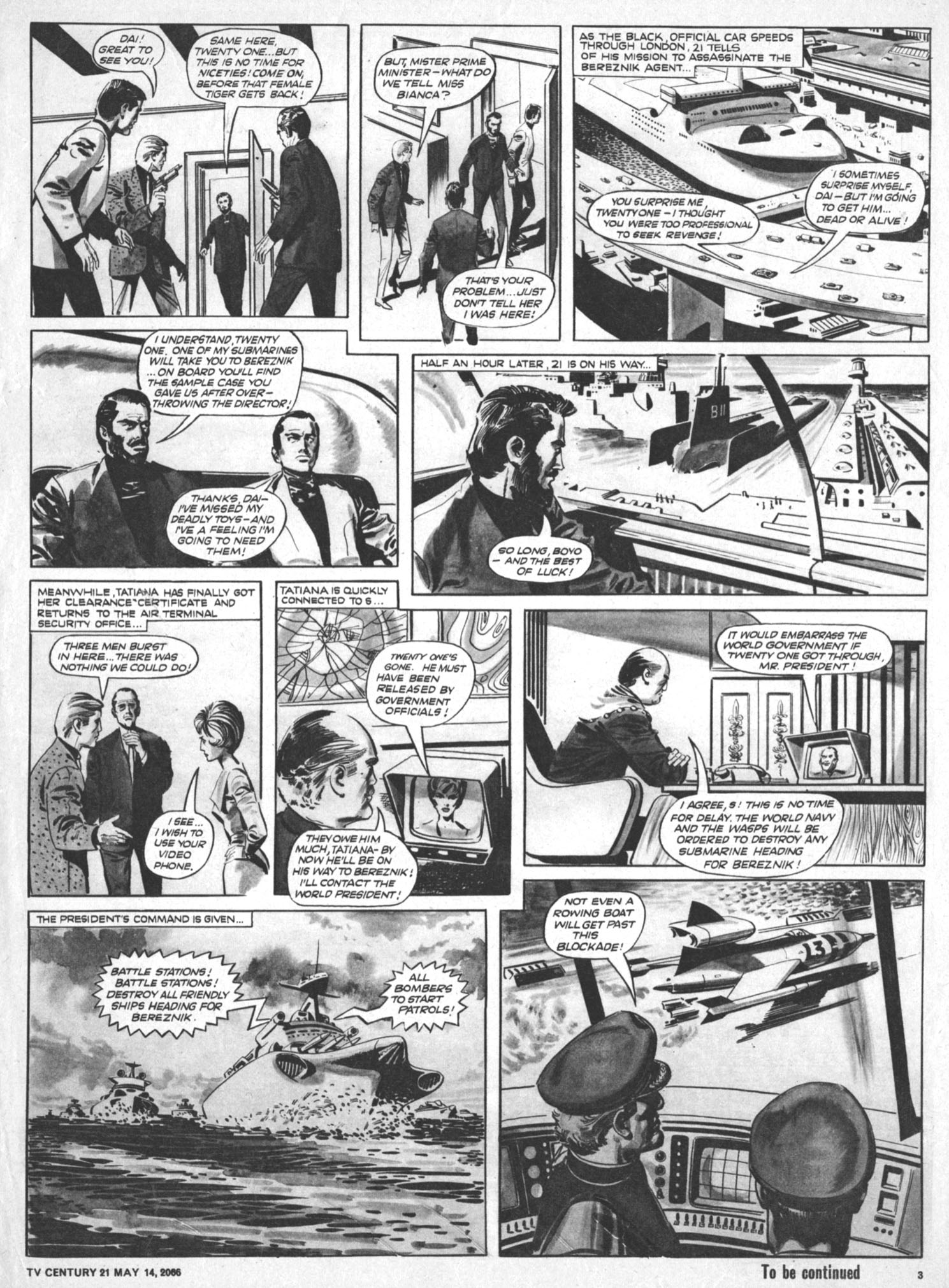 Read online TV Century 21 (TV 21) comic -  Issue #69 - 3