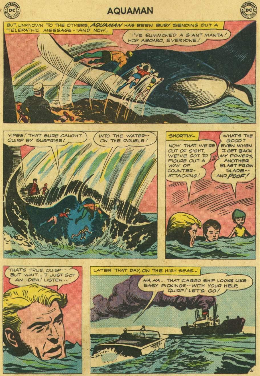 Read online Aquaman (1962) comic -  Issue #6 - 29