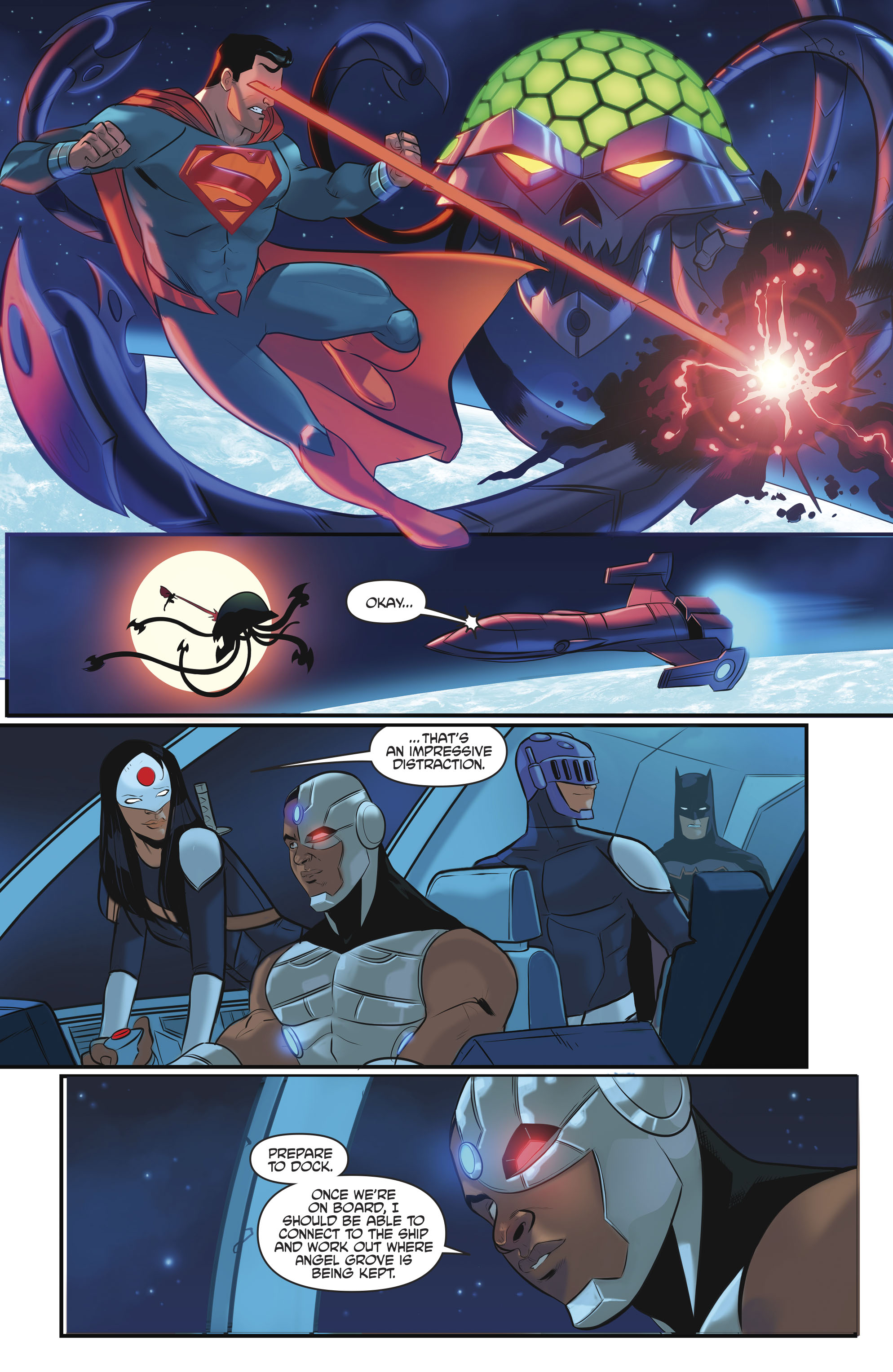 Read online Justice League/Mighty Morphin' Power Rangers comic -  Issue #4 - 18