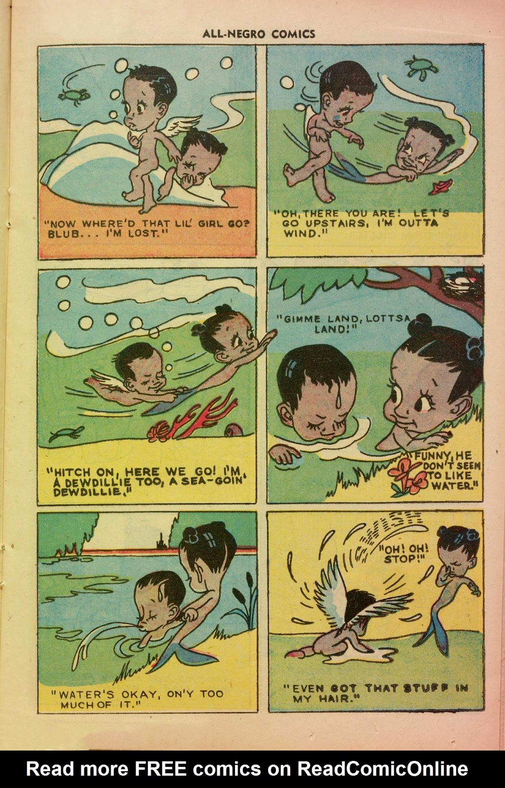 All-Negro Comics issue Full - Page 19