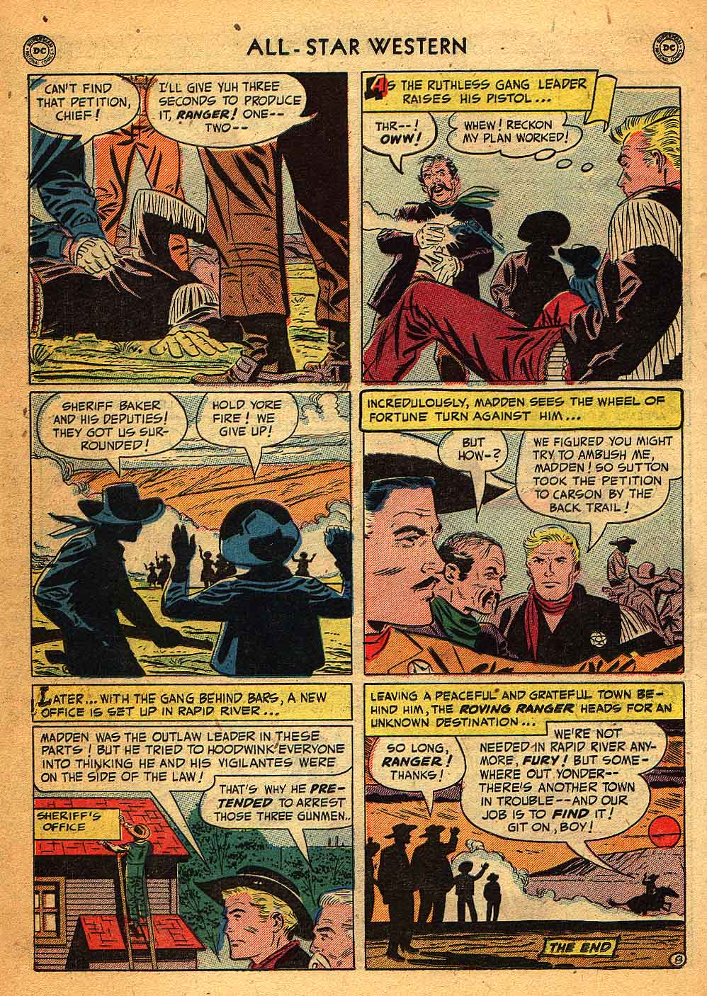 Read online All-Star Western (1951) comic -  Issue #58 - 32