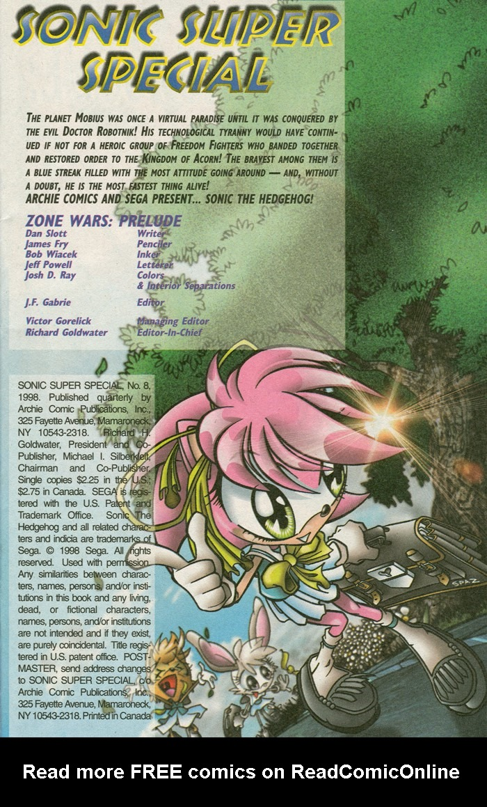 Read online Sonic Super Special comic -  Issue #8 - Giant special - 2