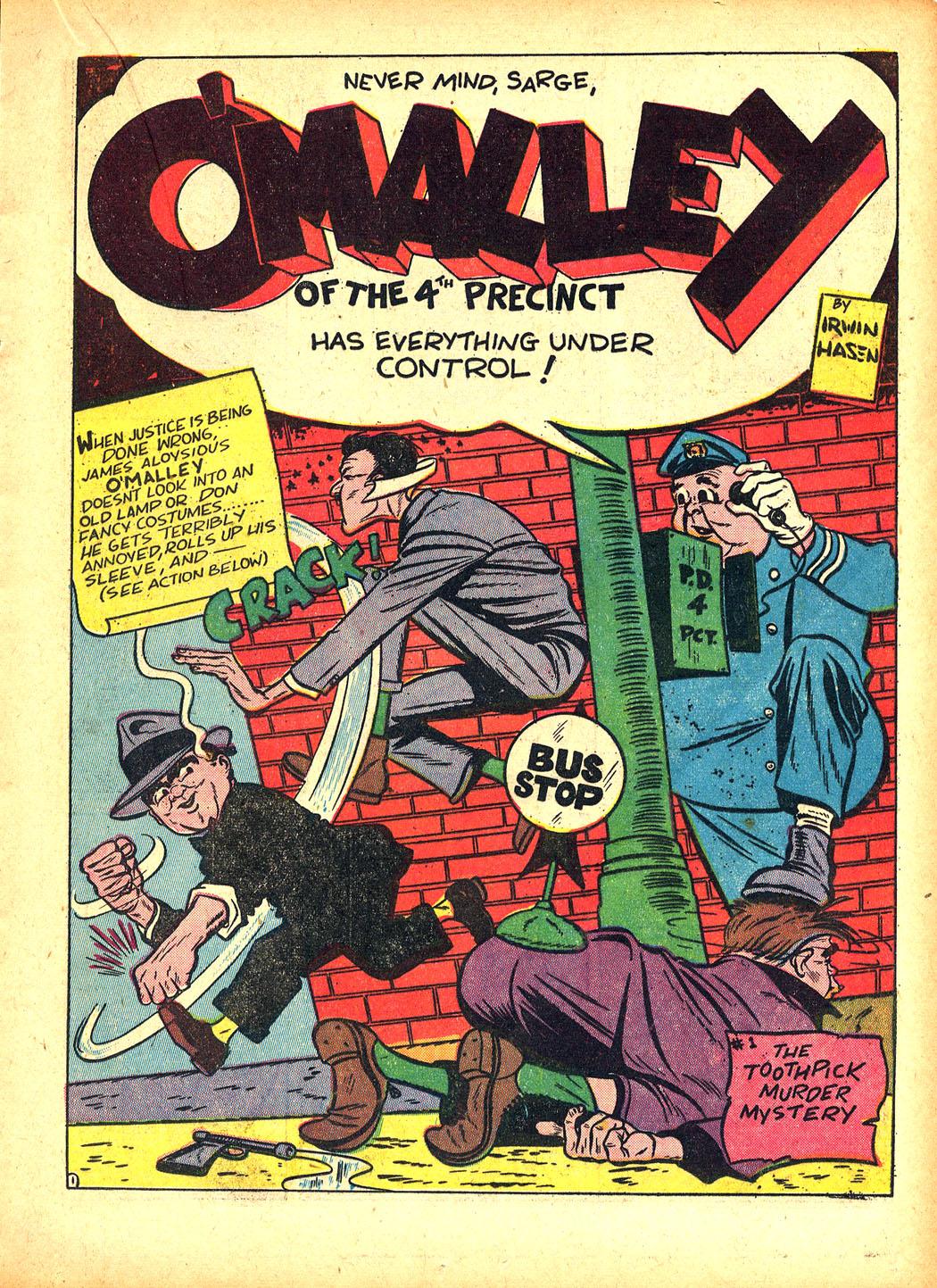 Read online Sensation (Mystery) Comics comic -  Issue #5 - 33