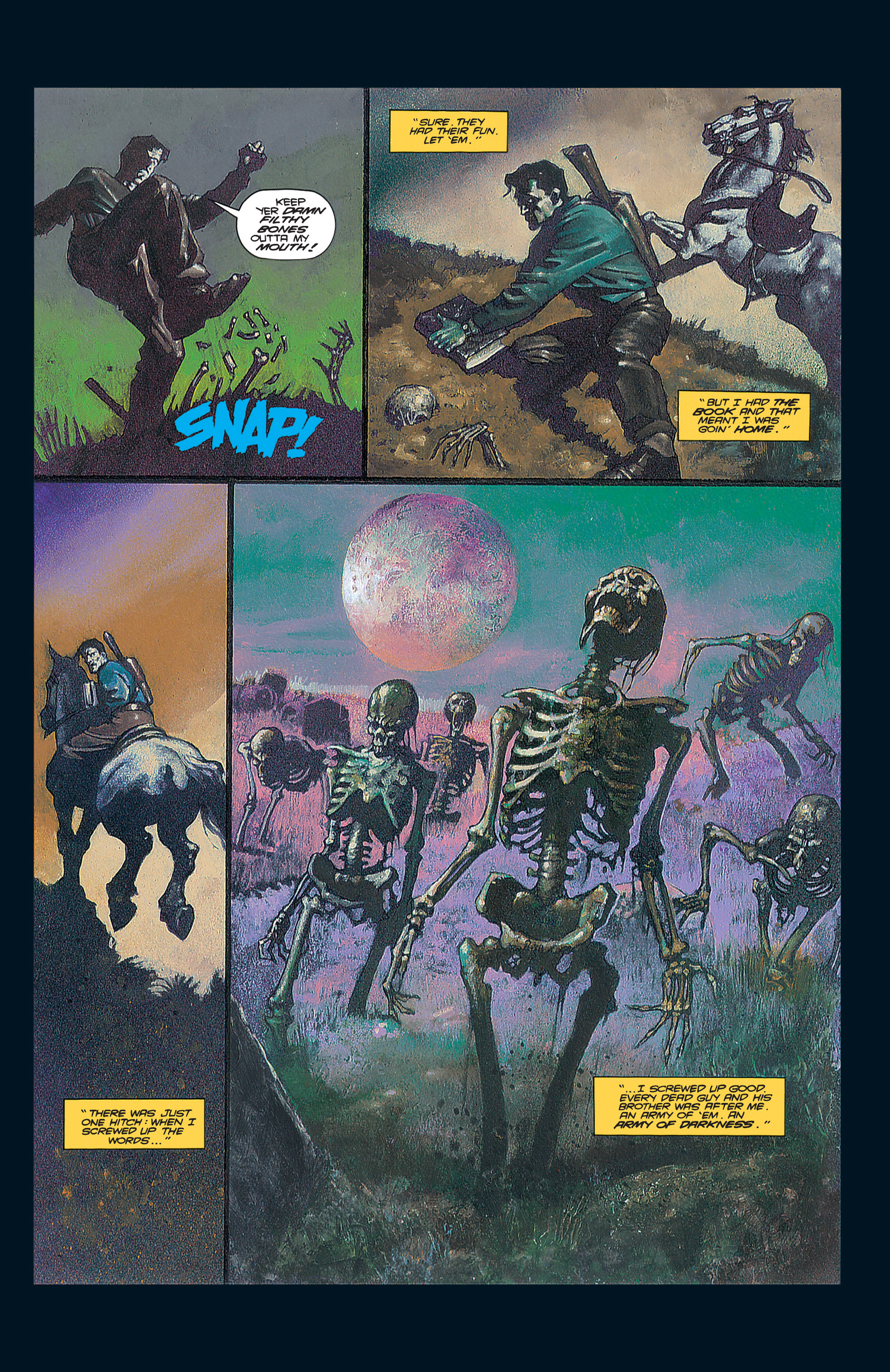 Read online Army of Darkness (1992) comic -  Issue #2 - 21