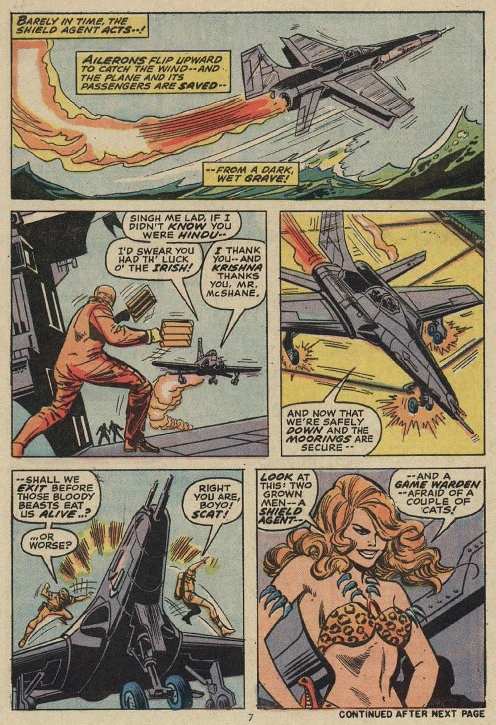 Read online Shanna, the She-Devil (1972) comic -  Issue #5 - 7