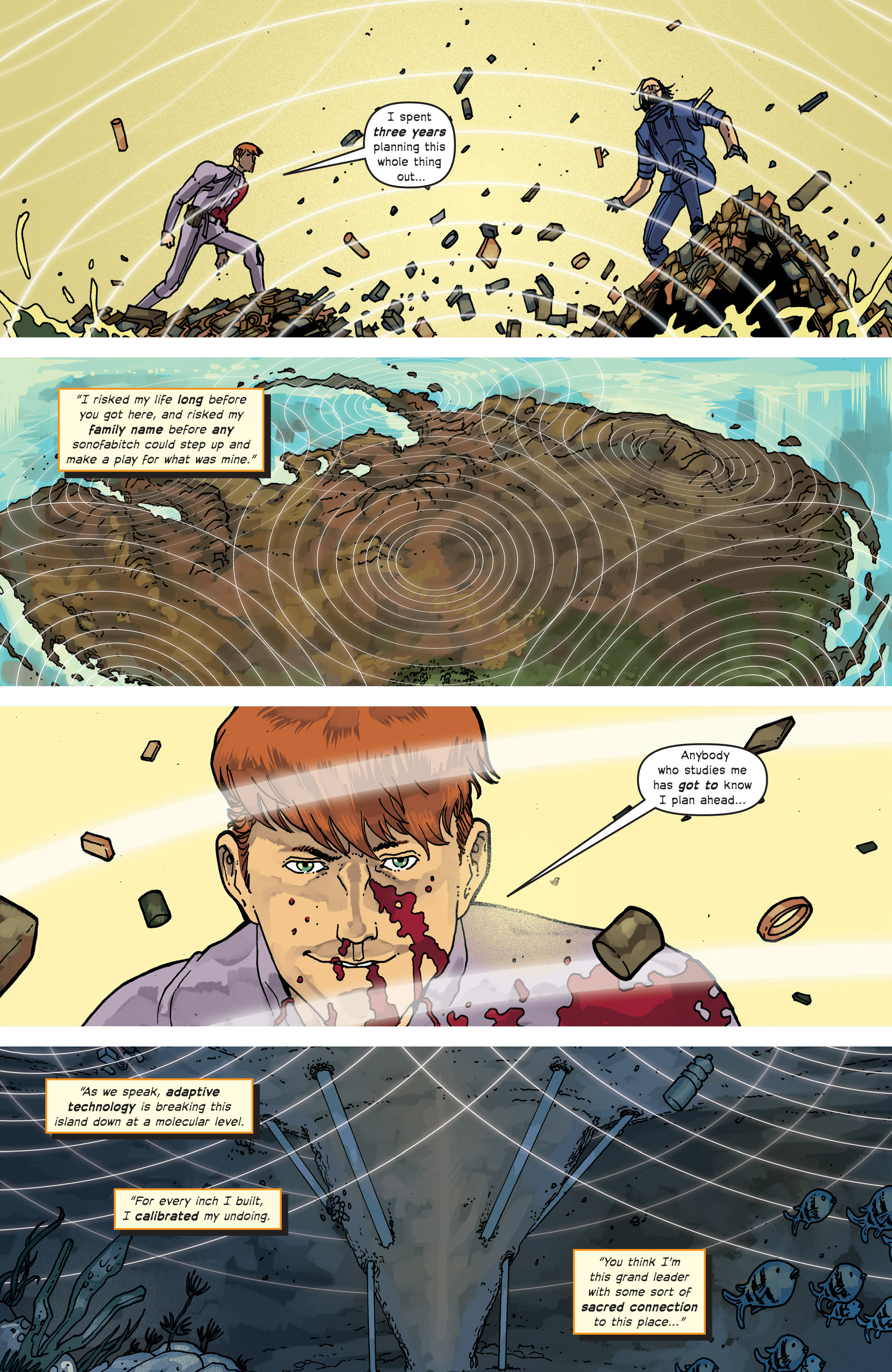 Read online Great Pacific comic -  Issue #18 - 20