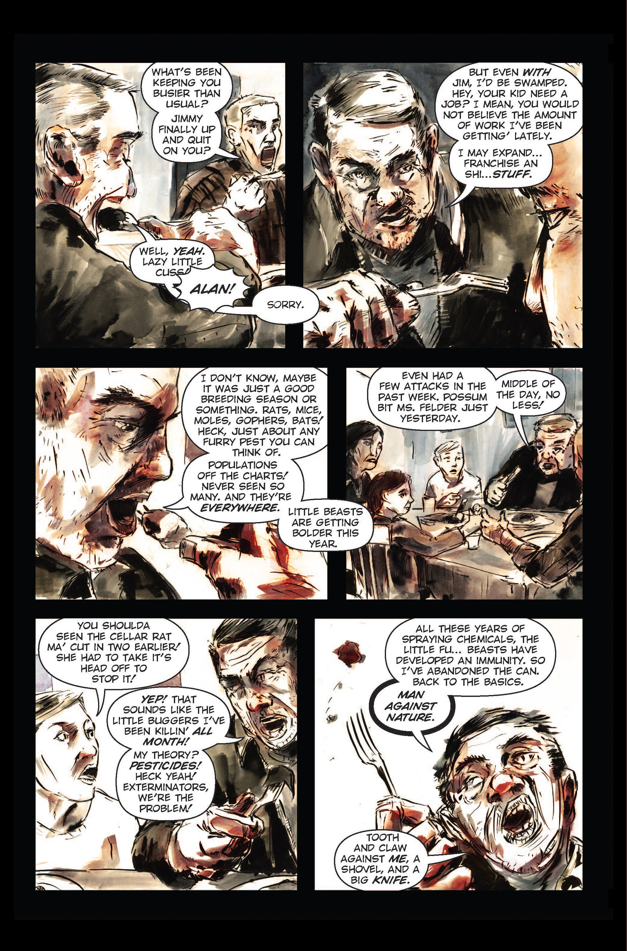 Read online The Final Plague comic -  Issue #1 - 21