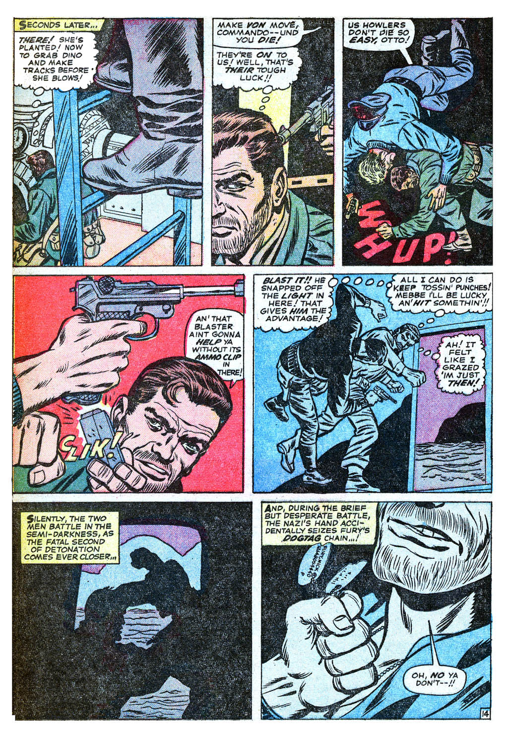 Read online Sgt. Fury comic -  Issue #18 - 20