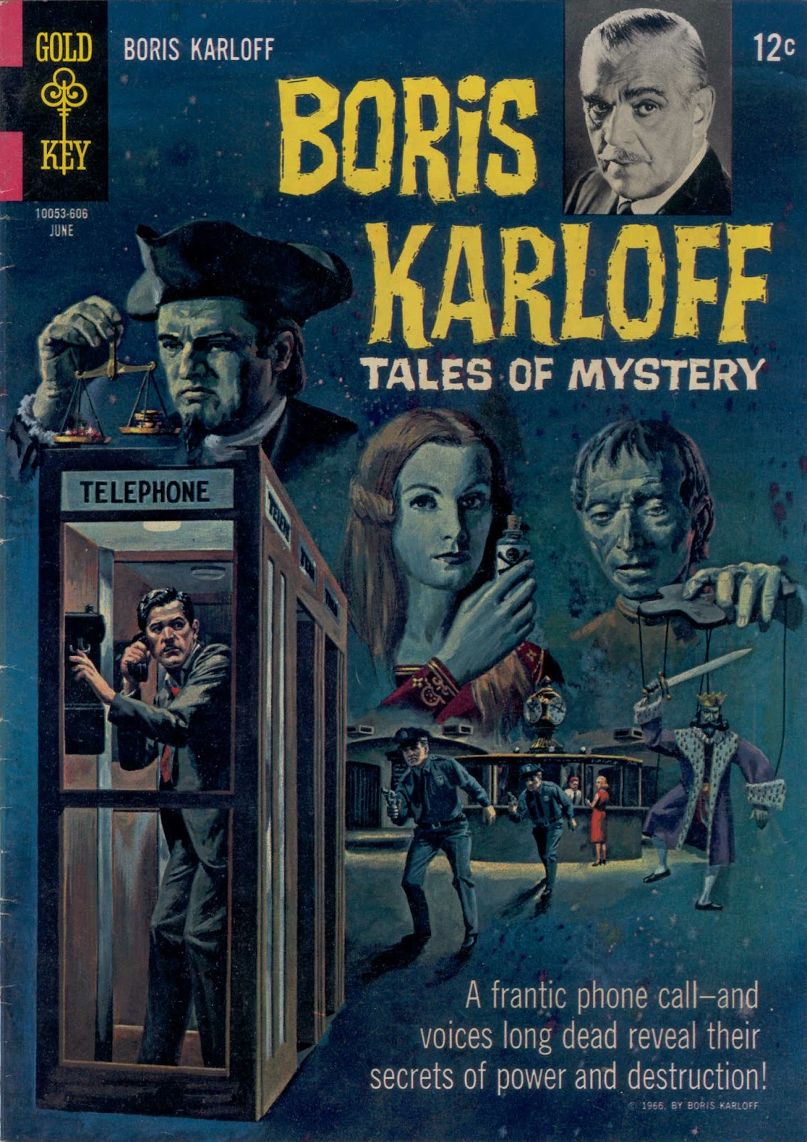 Boris Karloff Tales of Mystery issue 14 - Page 1