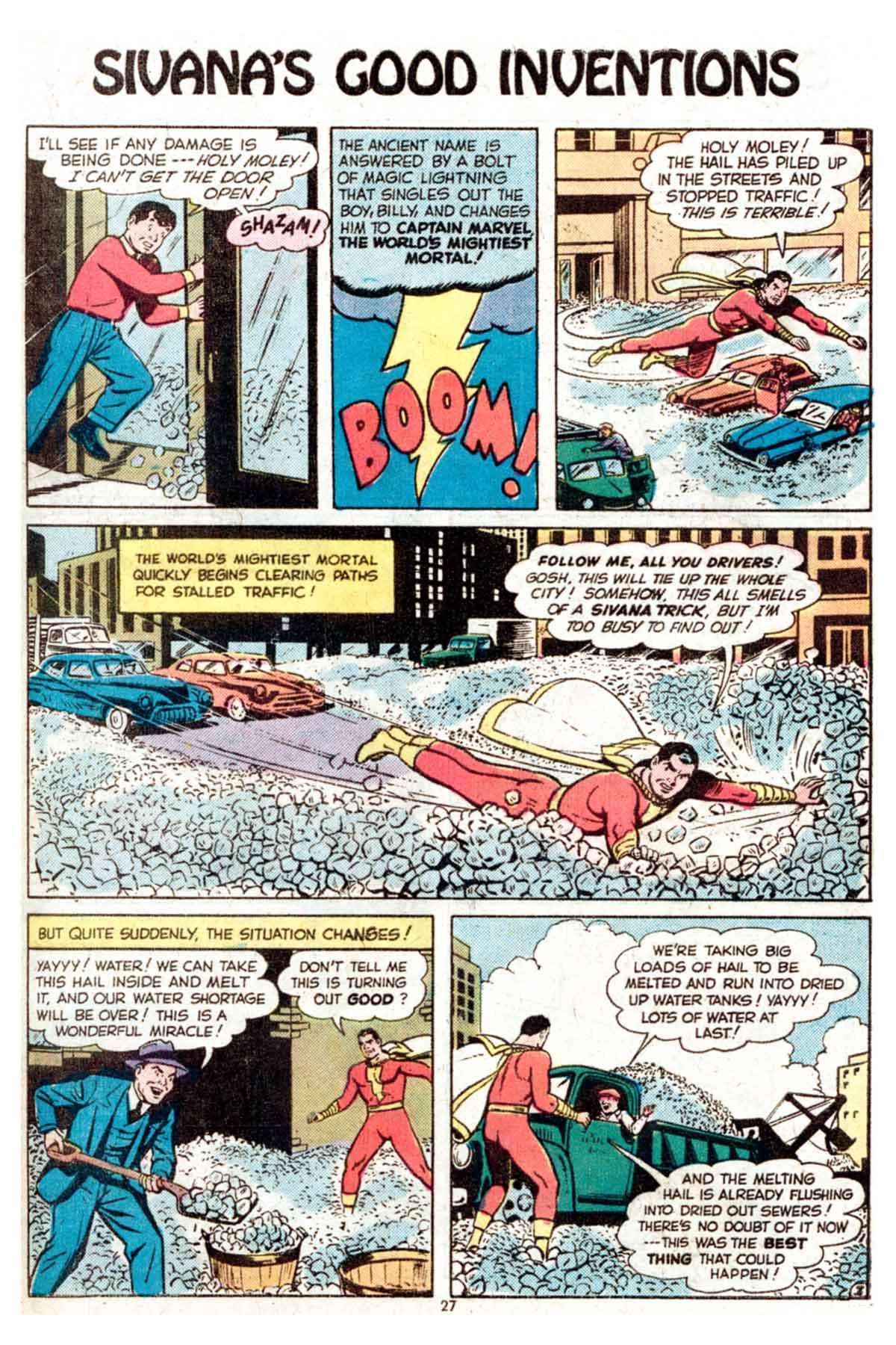 Read online Shazam! (1973) comic -  Issue #15 - 27