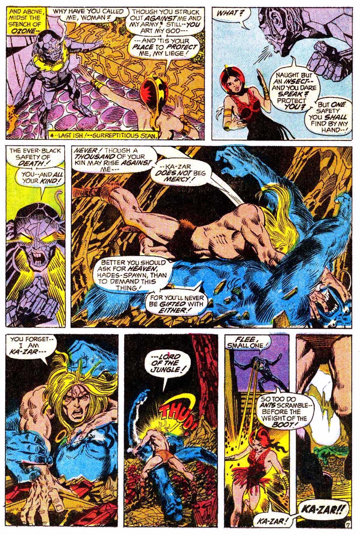 Read online Astonishing Tales (1970) comic -  Issue #5 - 18