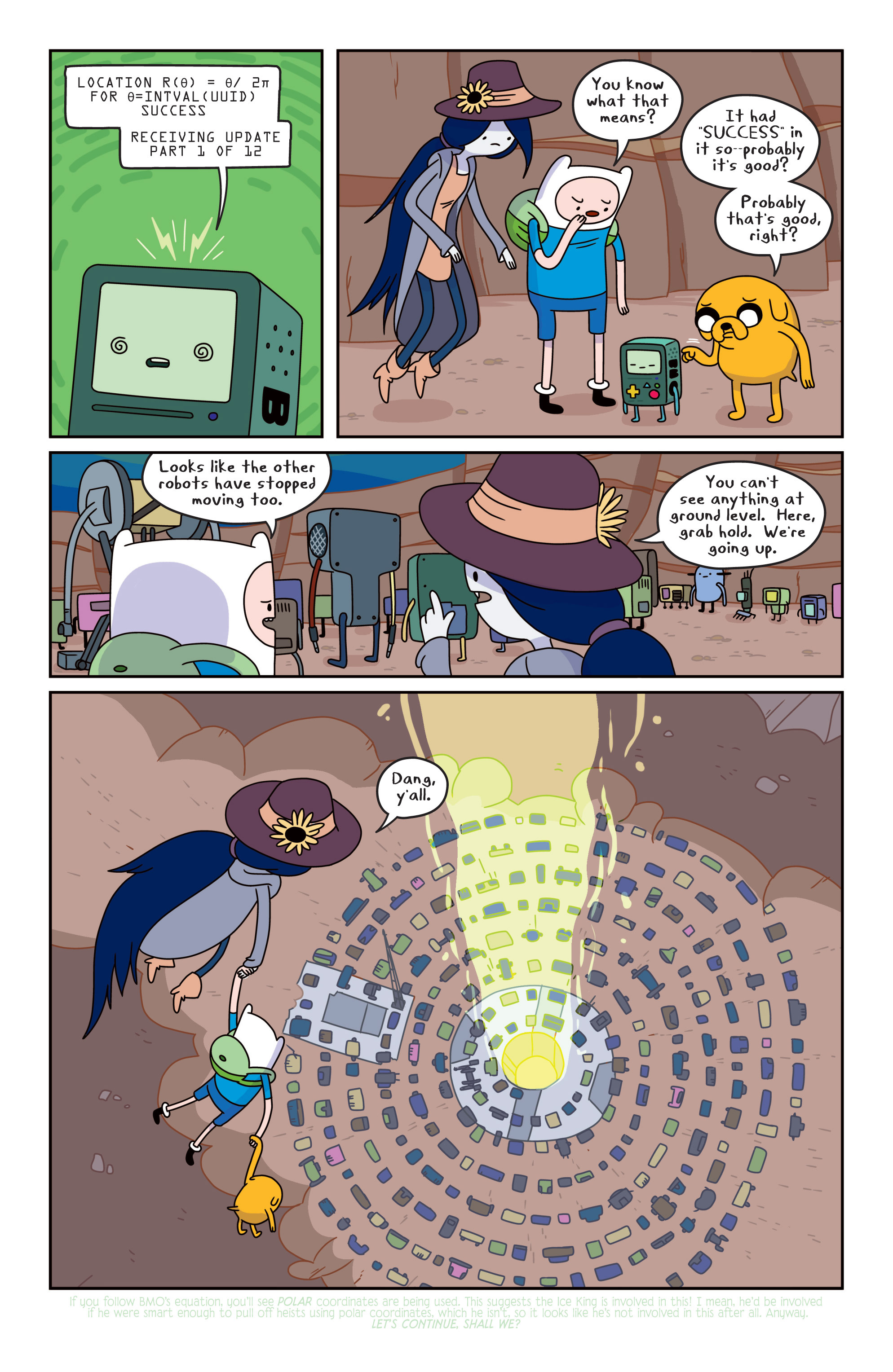 Read online Adventure Time comic -  Issue #13 - 7