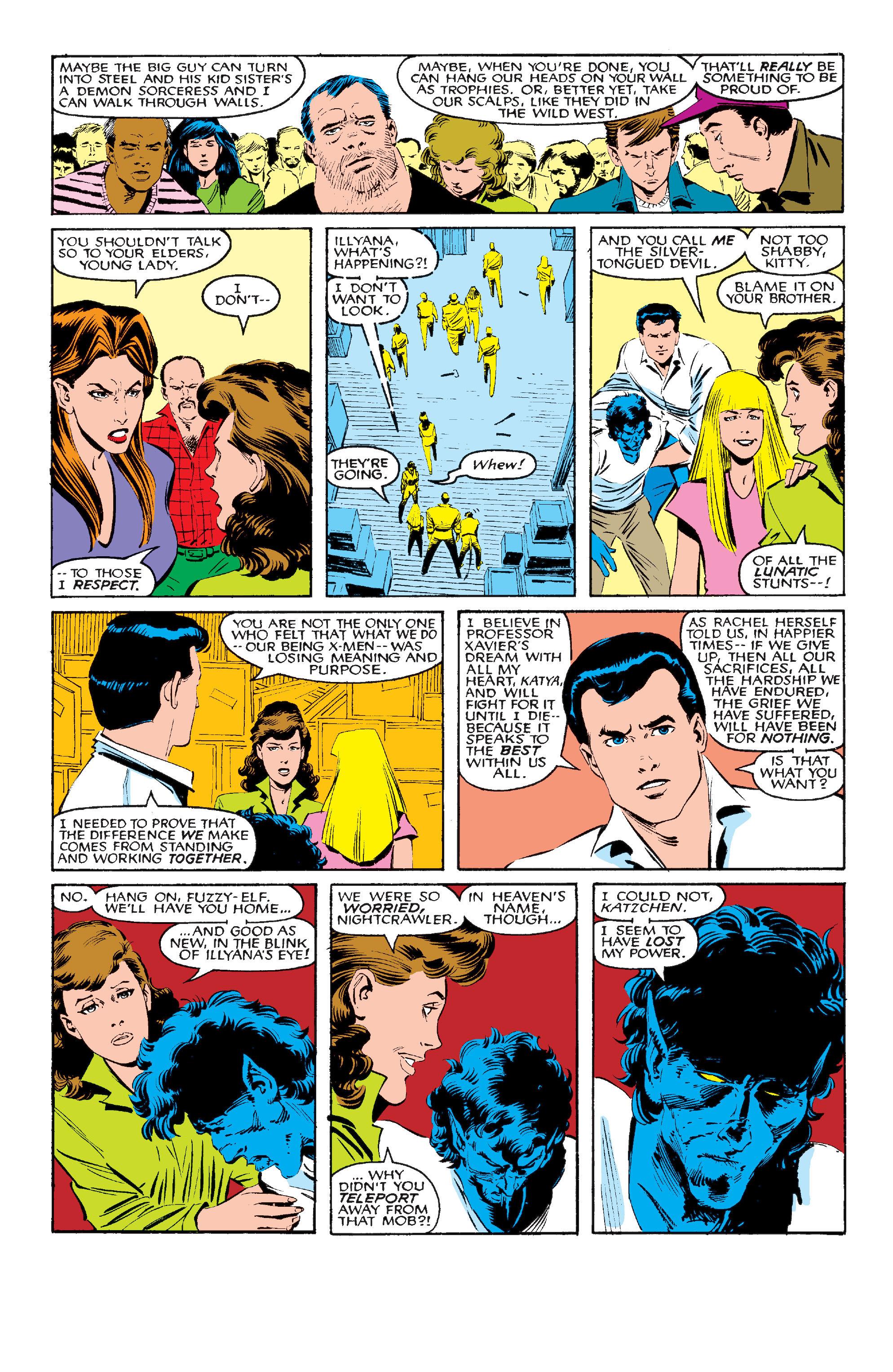 Read online Uncanny X-Men (1963) comic -  Issue #210 - 21