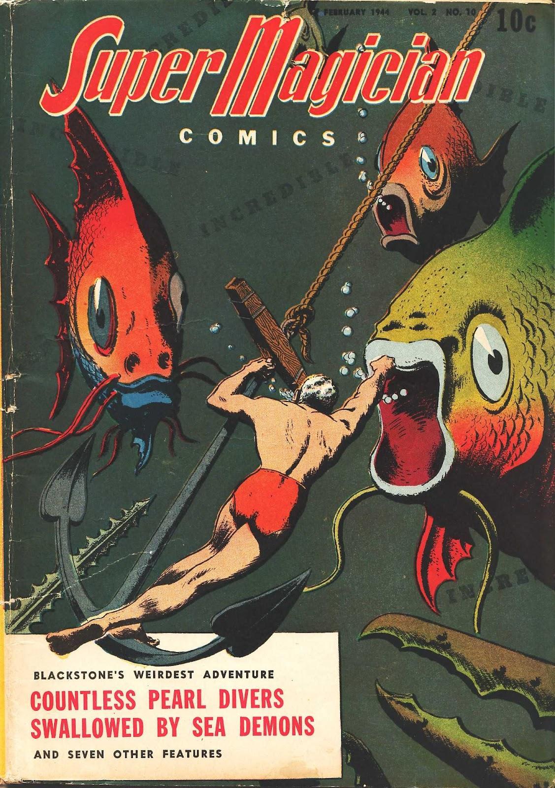 Super-Magician Comics issue 22 - Page 1