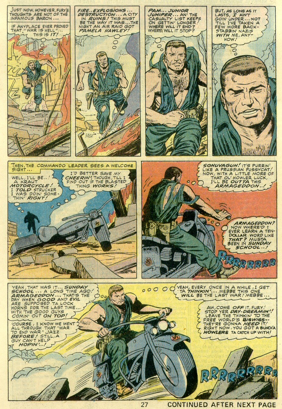 Read online Sgt. Fury comic -  Issue #131 - 29