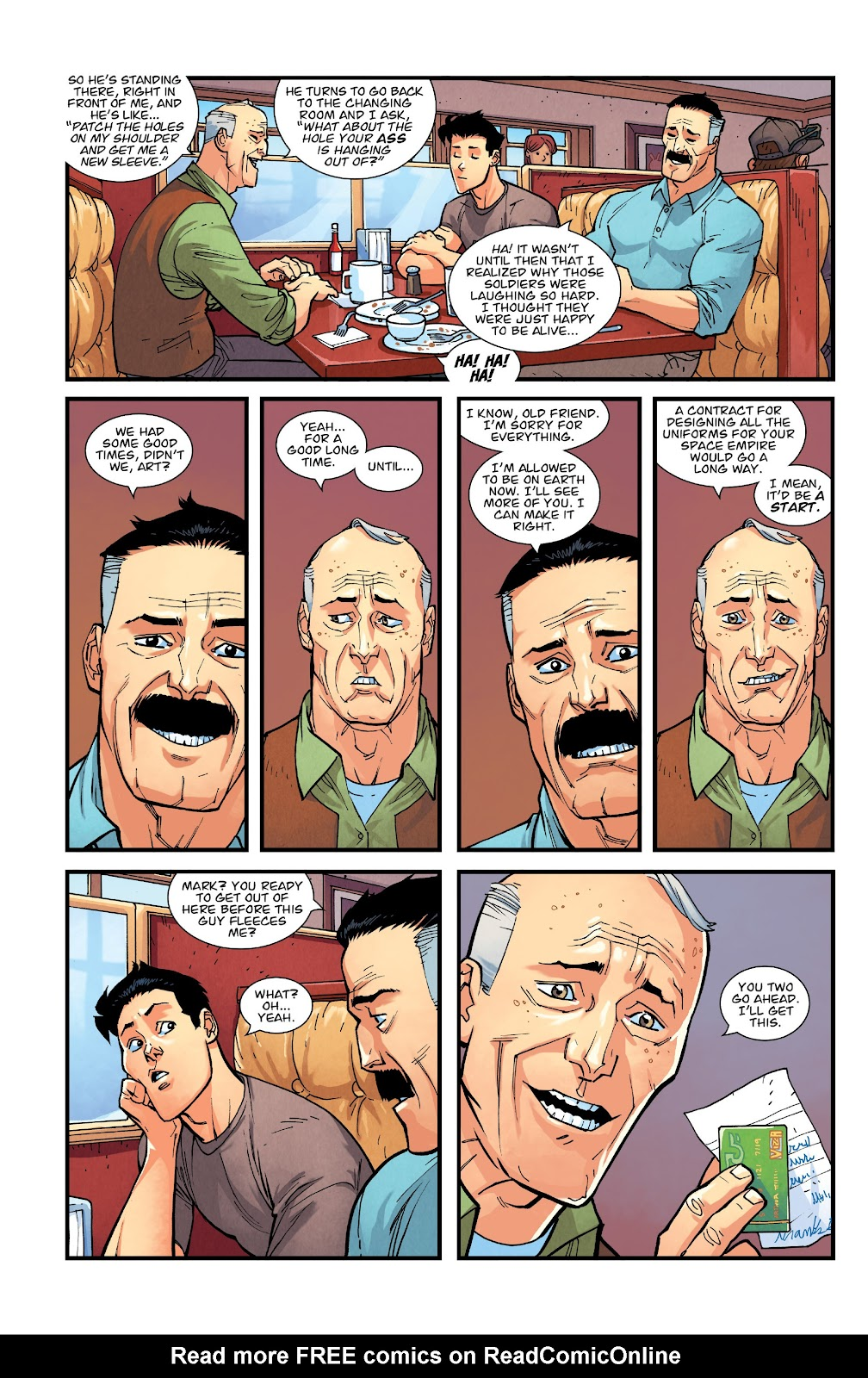 Invincible (2003) issue TPB 21 - Modern Family - Page 57