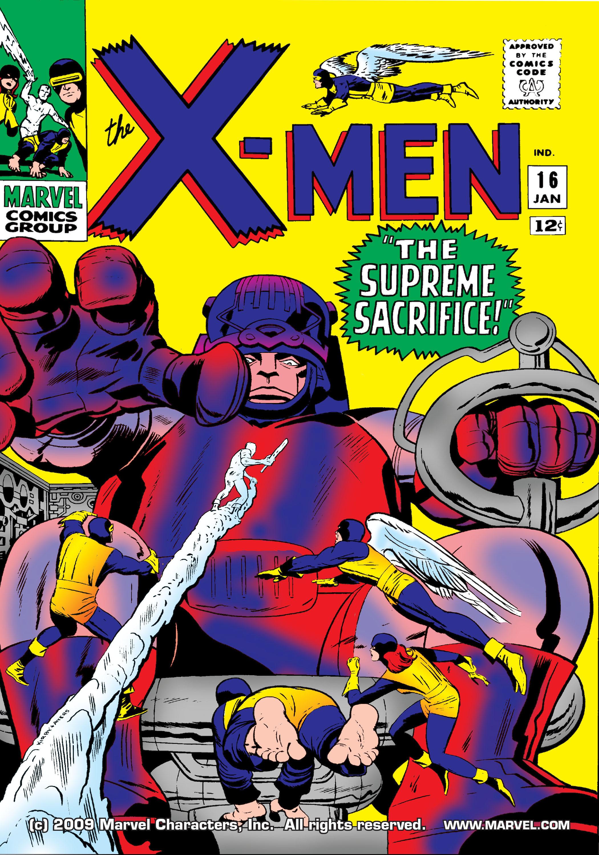 Uncanny X-Men (1963) 16 Page 1