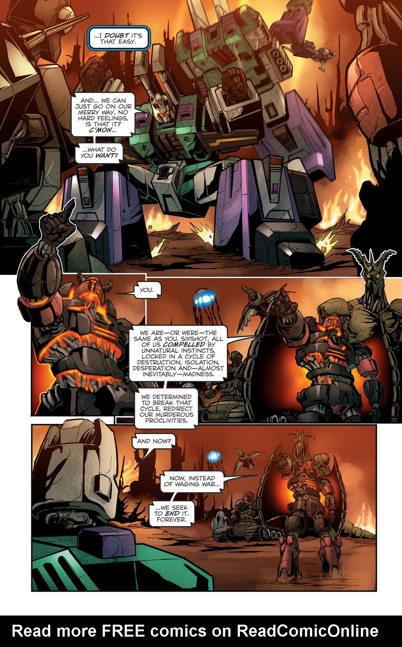 Read online Transformers Spotlight: Sixshot comic -  Issue # Full - 20