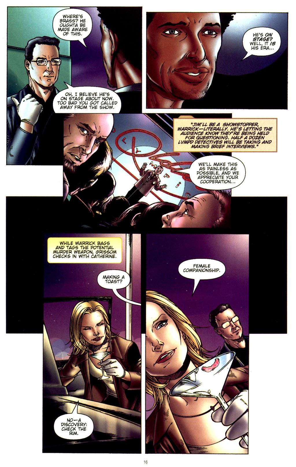 Read online CSI: Crime Scene Investigation: Bad Rap comic -  Issue #2 - 17