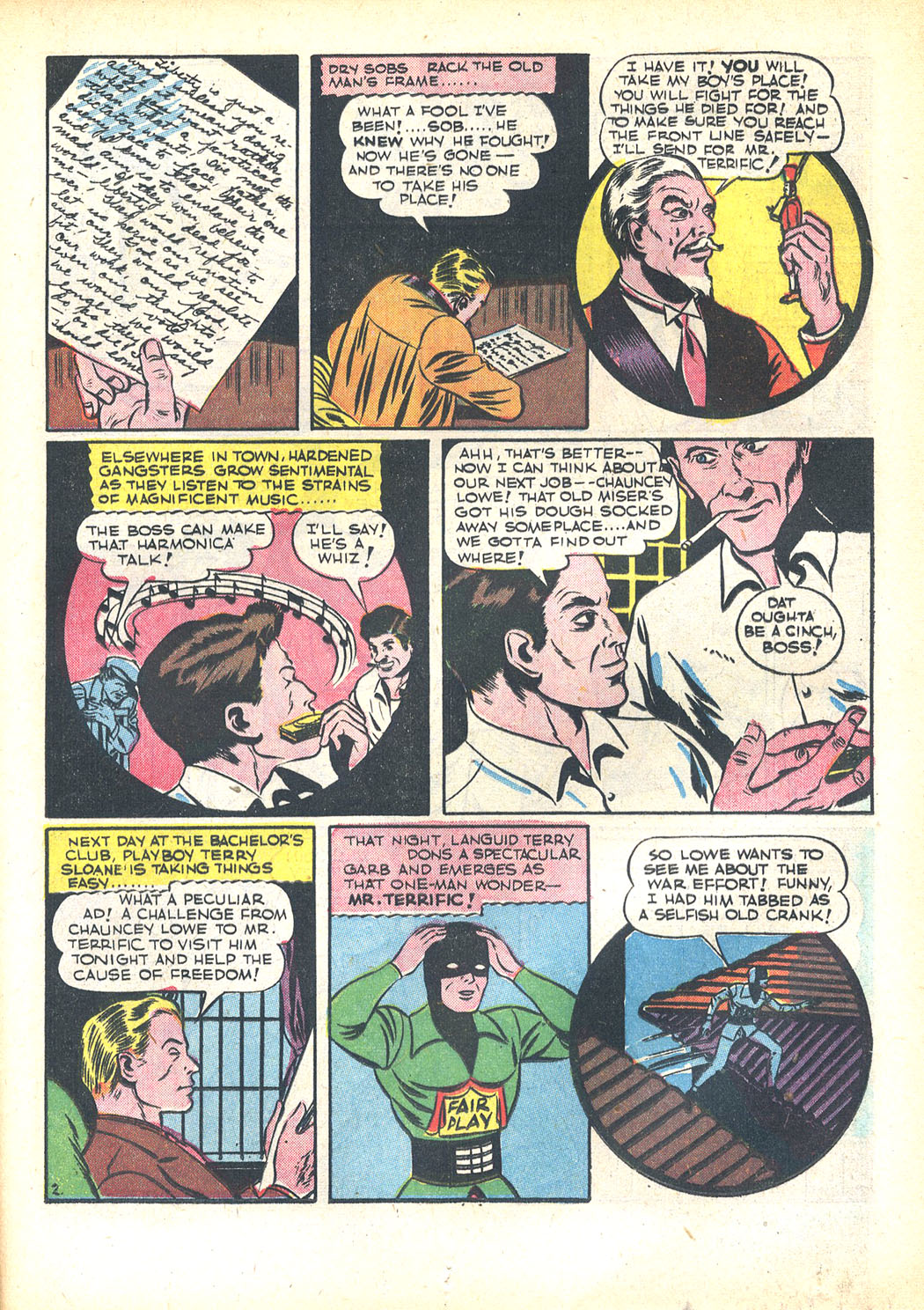 Read online Sensation (Mystery) Comics comic -  Issue #23 - 43