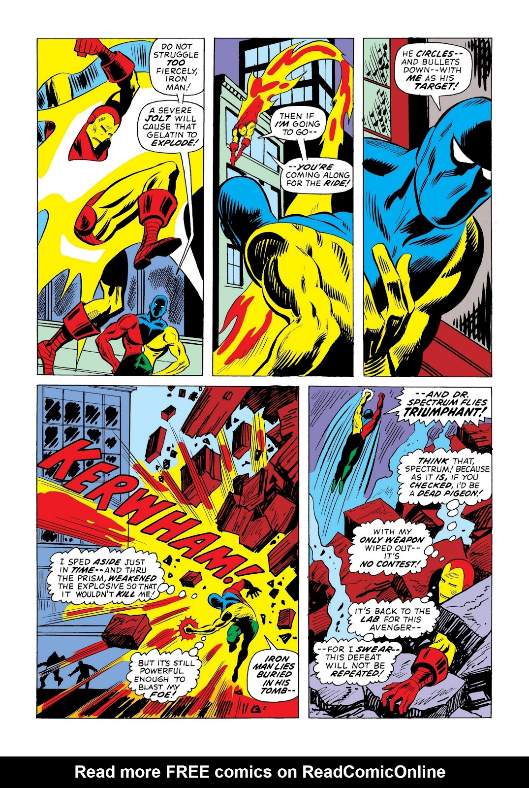 Read online Marvel Masterworks: The Invincible Iron Man comic -  Issue # TPB 9 (Part 3) - 11