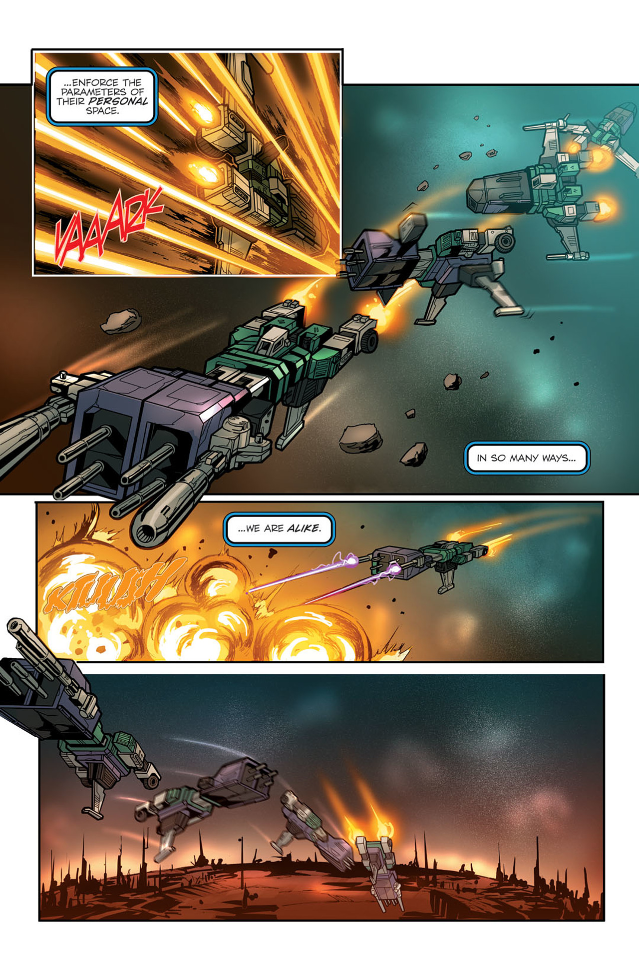 Read online Transformers Spotlight: Sixshot comic -  Issue # Full - 11