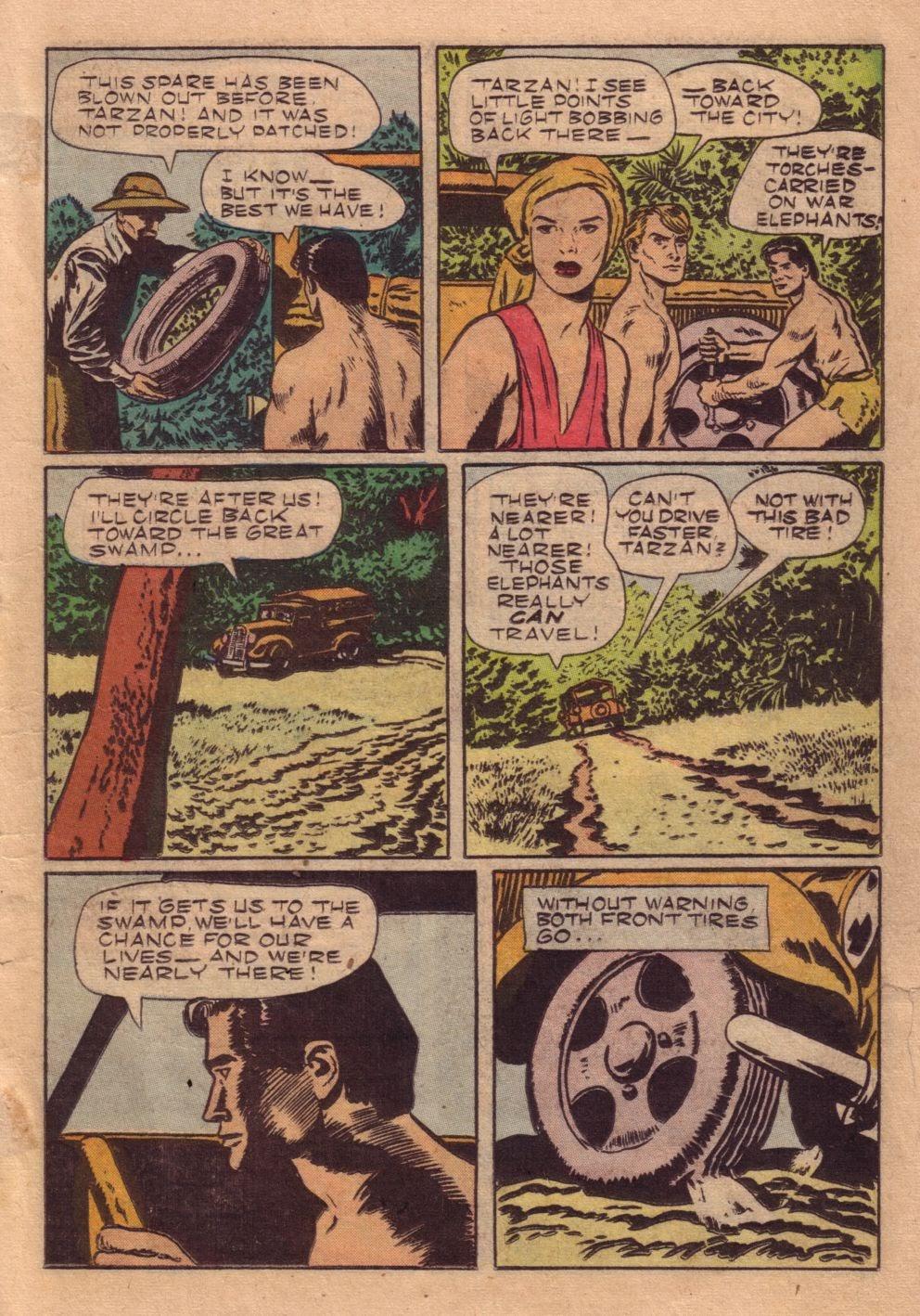 Tarzan (1948) issue 40 - Page 23