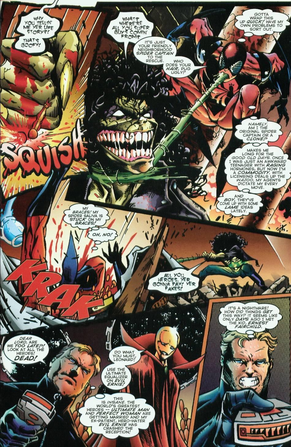 Read online Evil Ernie vs. the Superheroes comic -  Issue #1 - 5