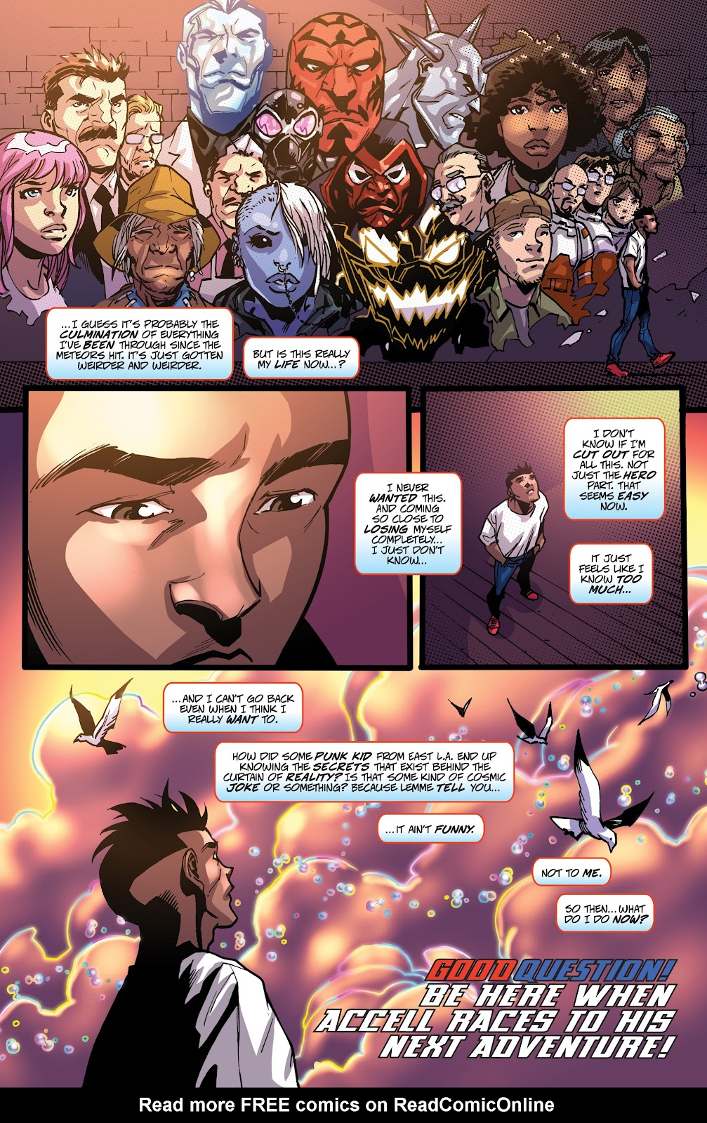 Read online Accell comic -  Issue #19 - 26