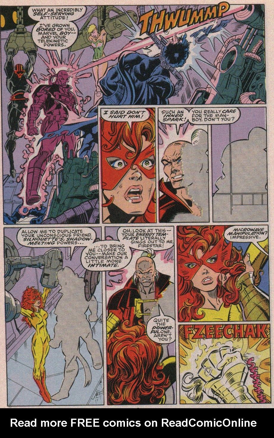 The New Warriors Issue #19 #23 - English 6