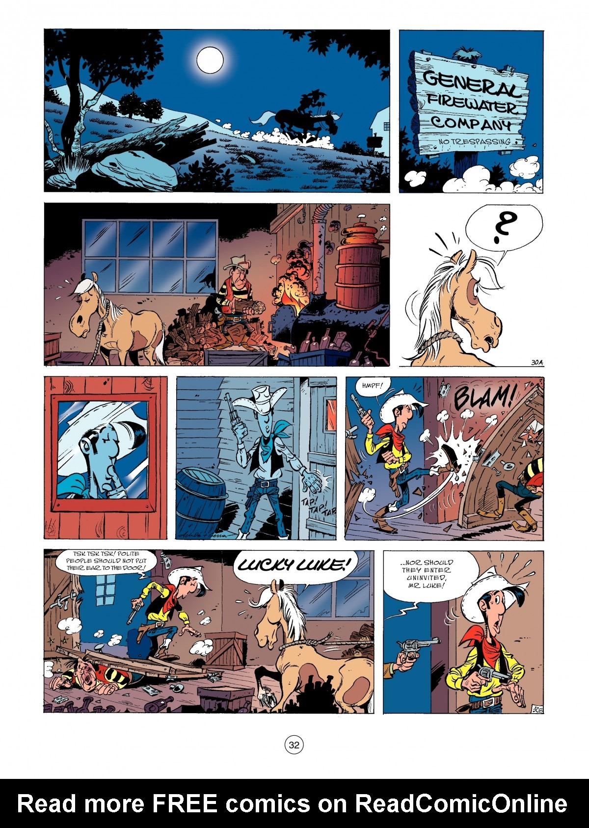 Read online A Lucky Luke Adventure comic -  Issue #52 - 34